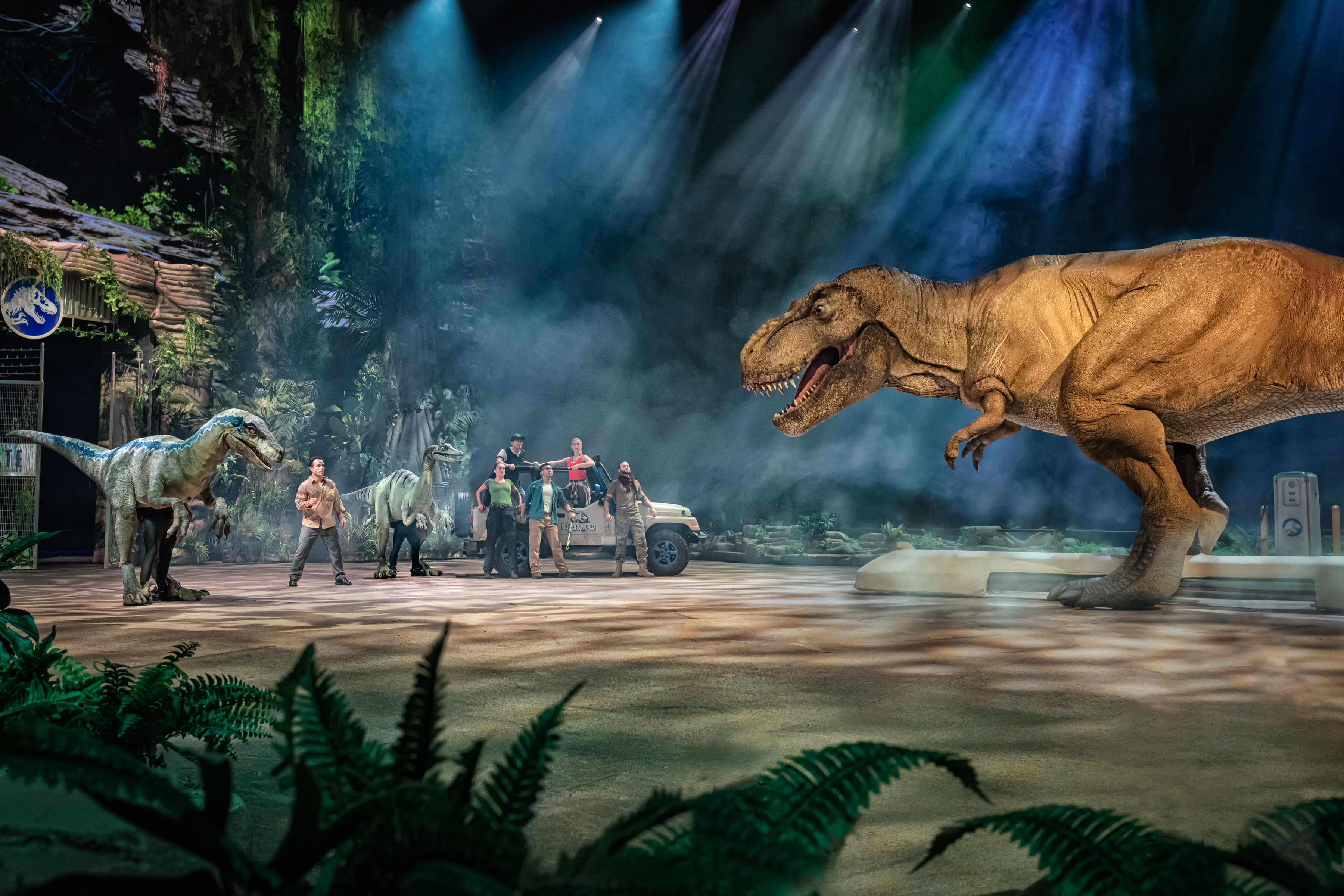 The world premiere of the Jurassic World Live Tour kicks off this weekend at the Allstate Arena in Rosemont.