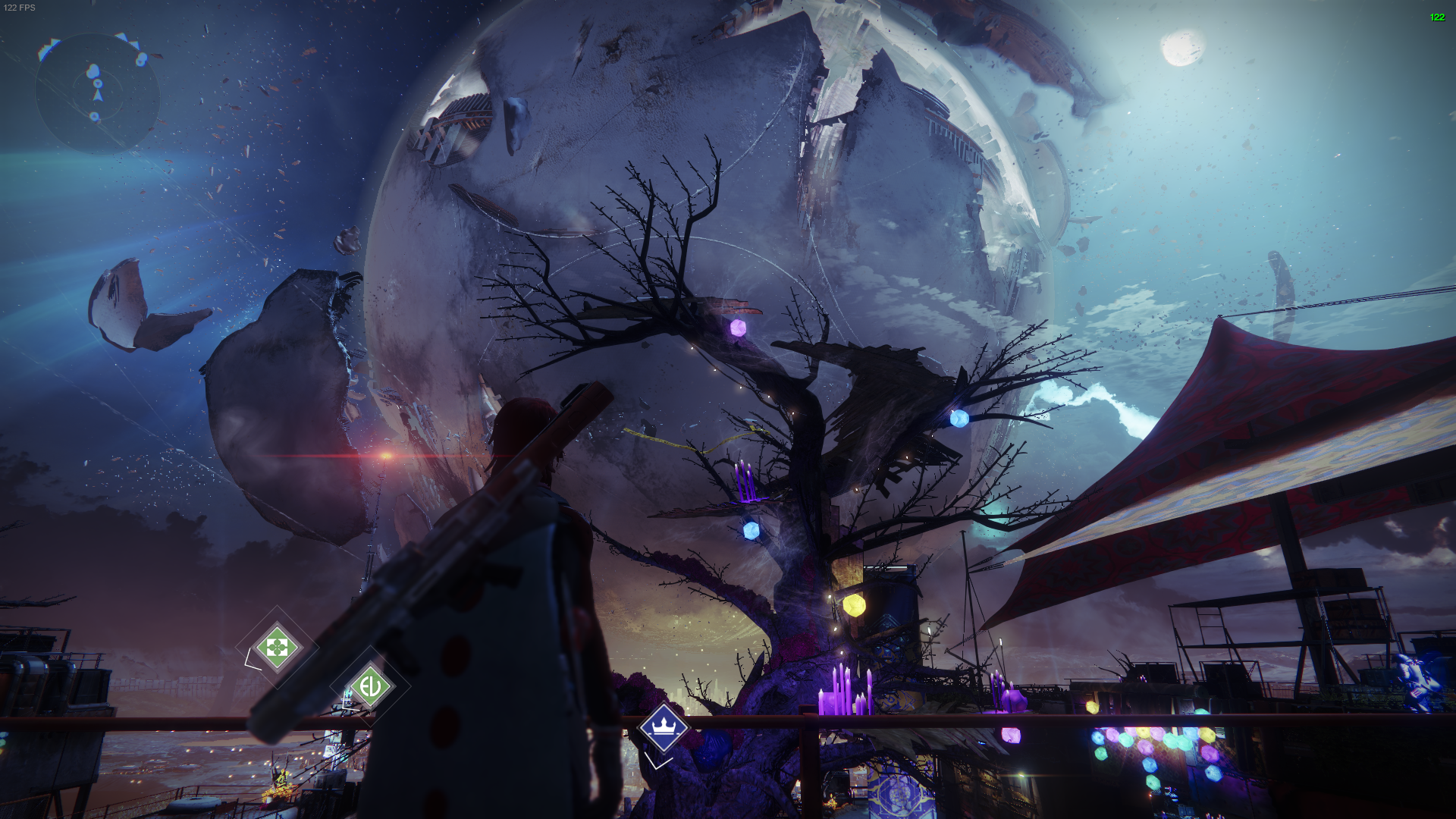 The 2019 Destiny 2 Festival of the Lost tree