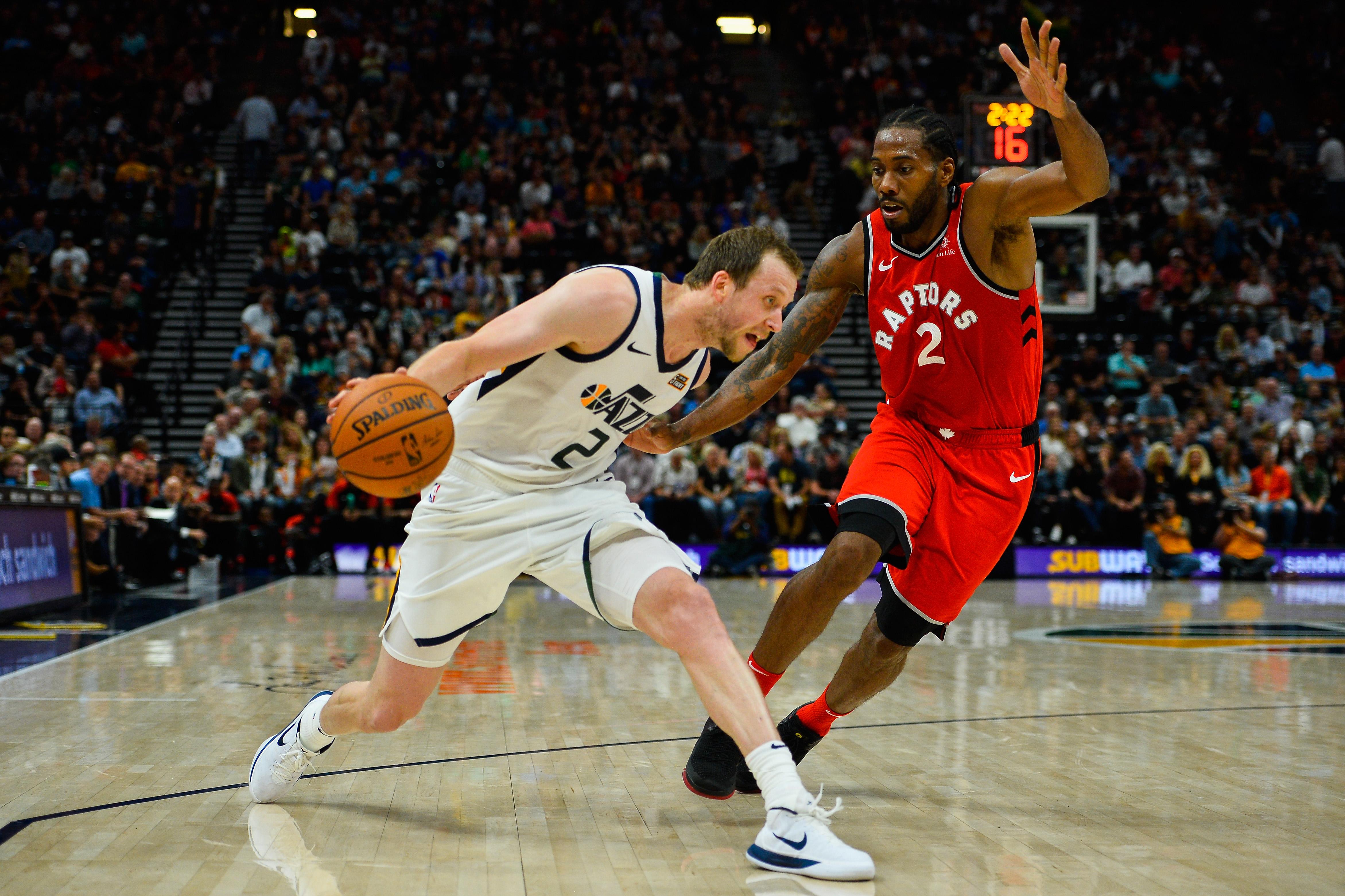 Toronto Raptors v Utah Jazz