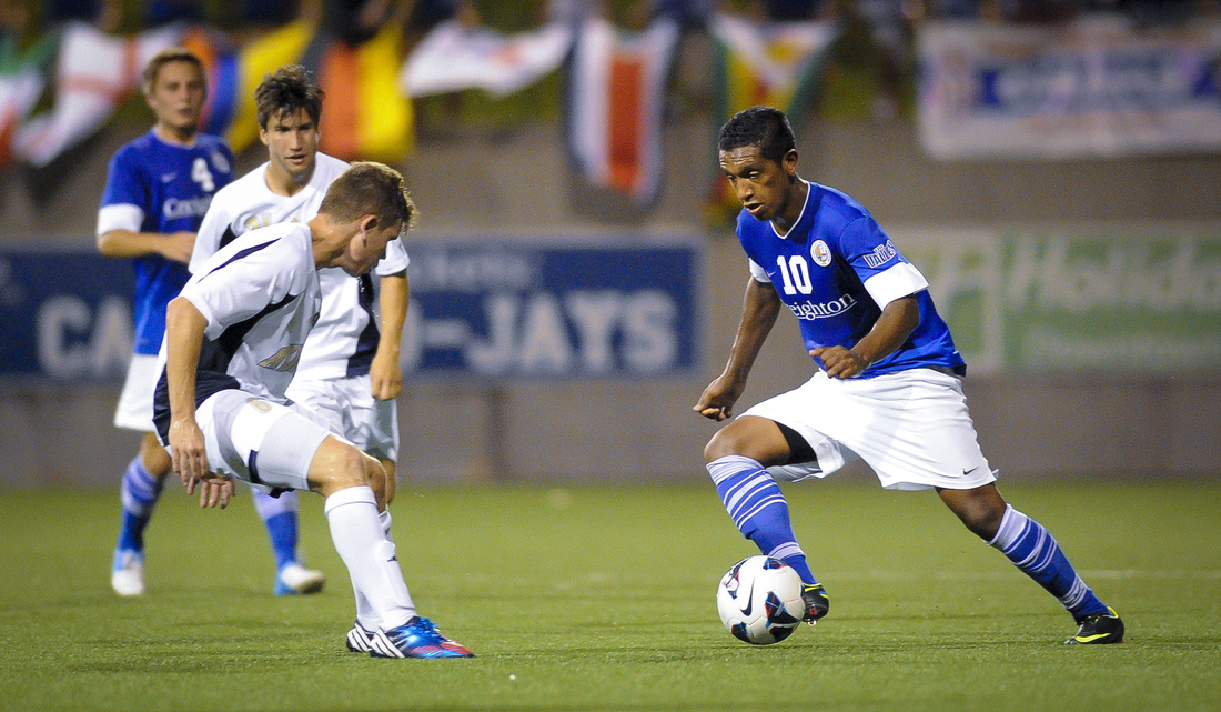 Creighton attacking midfielder Jose Gomez is our choice for D.C. United in the 2013 MLS Mock Draft.