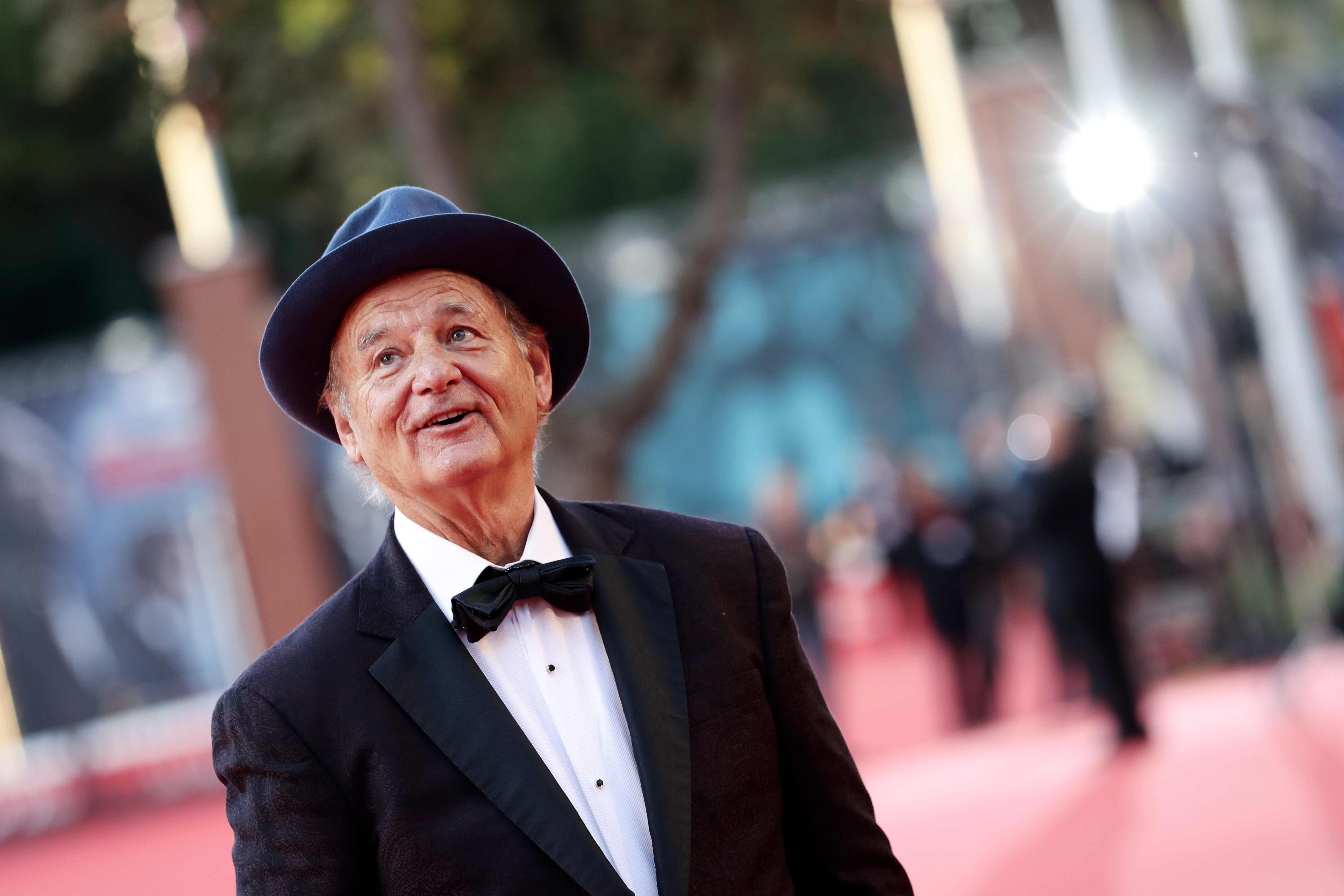 Bill Murray walks a red carpet during the 14th Rome Film Festival last week in Rome, Italy.