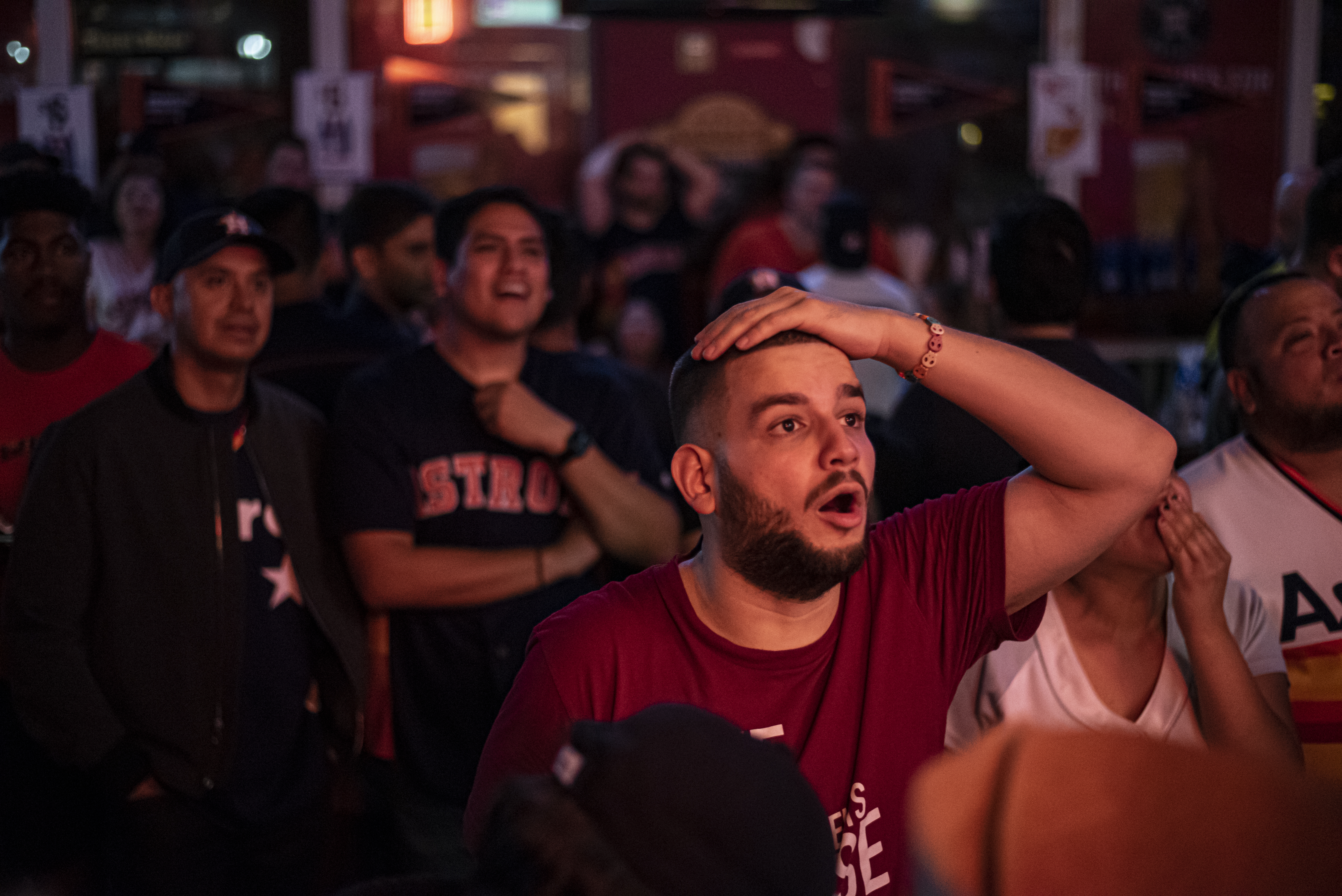 Astros Fans React After Game Six Of The World Series