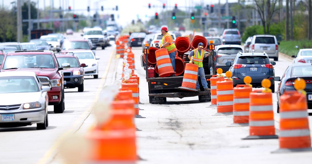 Construction on Golf Road in Schaumburg will begin Nov. 4, 2019.
