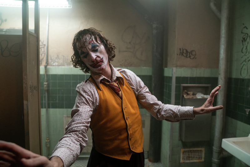 "Joaquin Phoenix stars as the title character in the hit film ""Joker."""