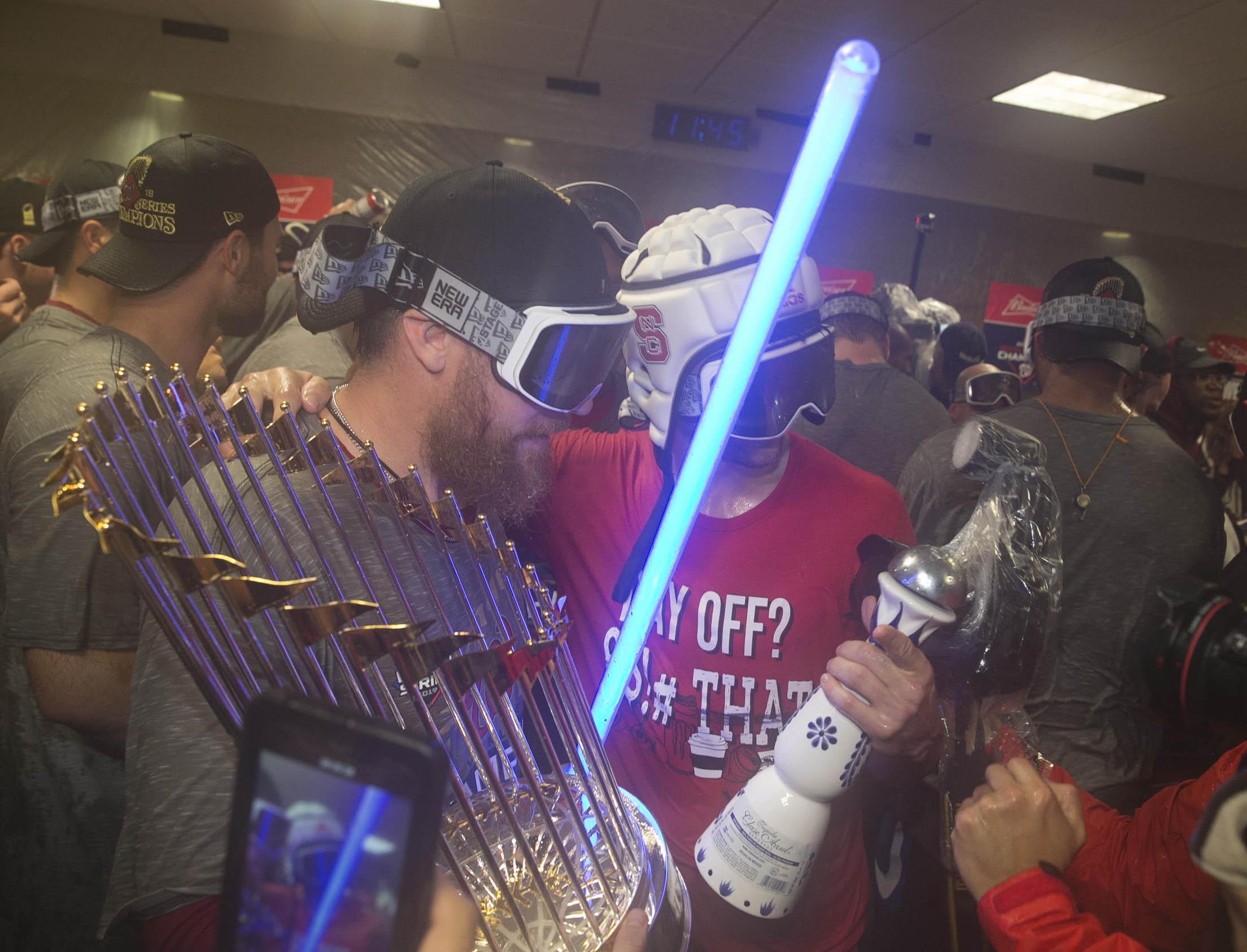MLB: World Series-Washington Nationals at Houston Astros