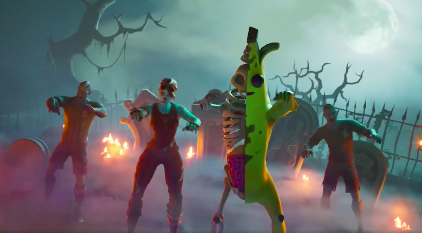 I have questions about the zombie Peely Fortnite skin