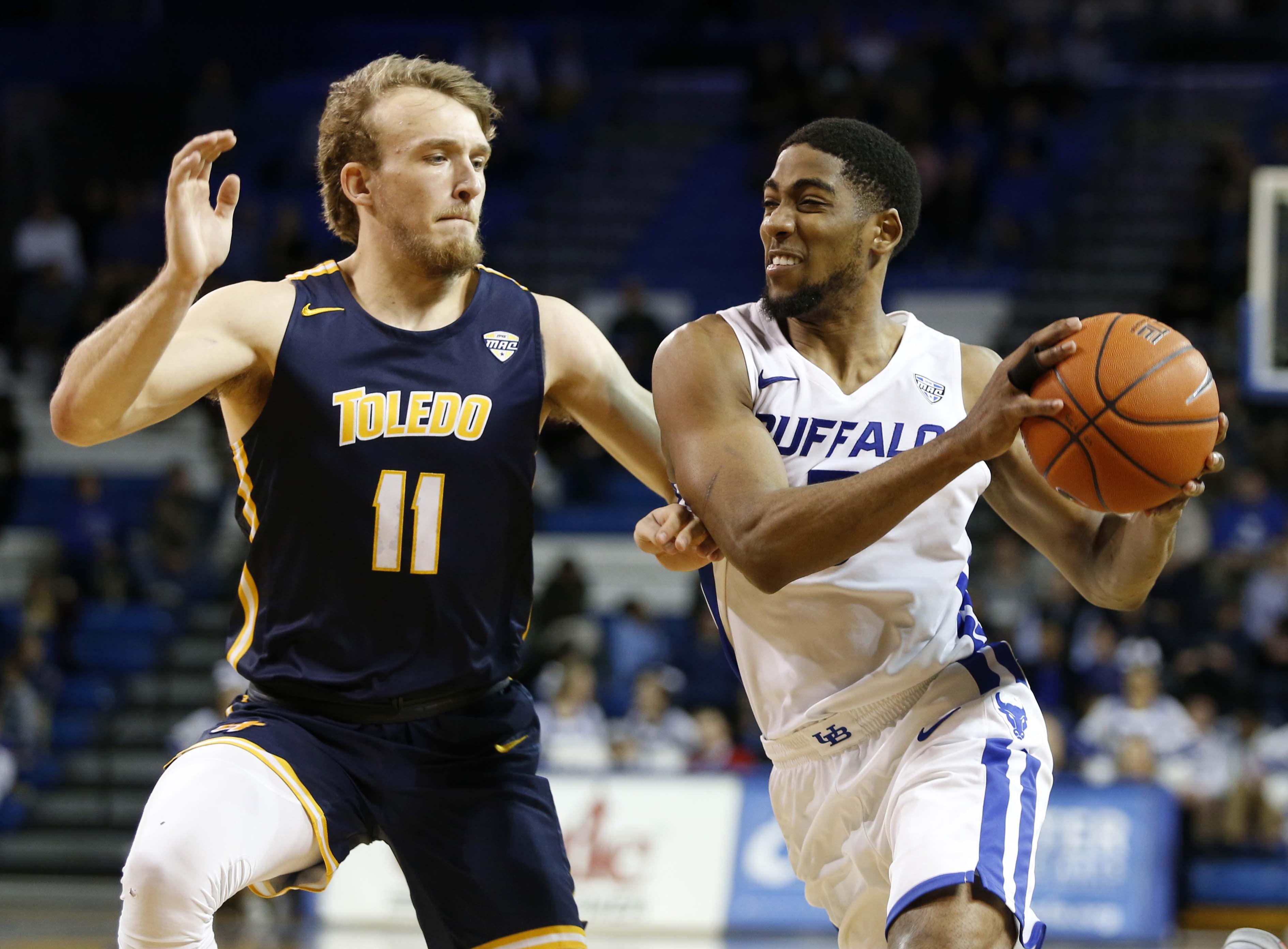 NCAA篮球:托莱多对布法罗