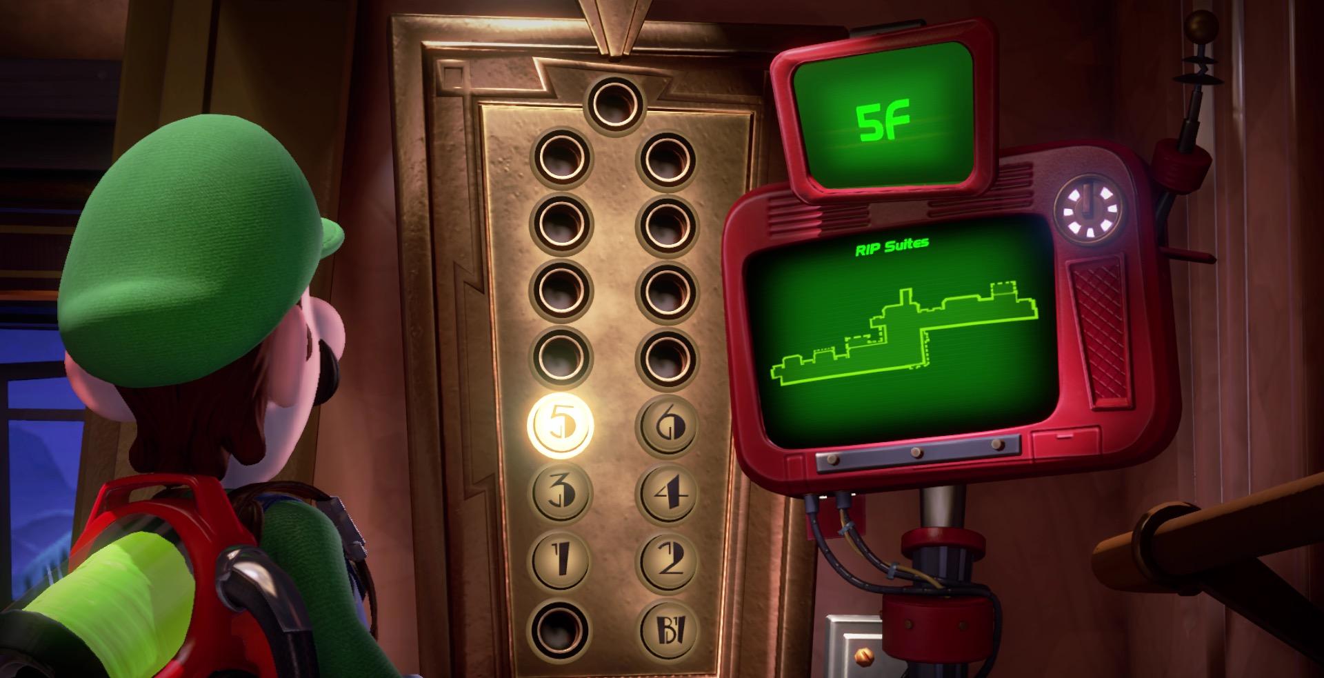 Luigi's Mansion 3 5F gem locations guide