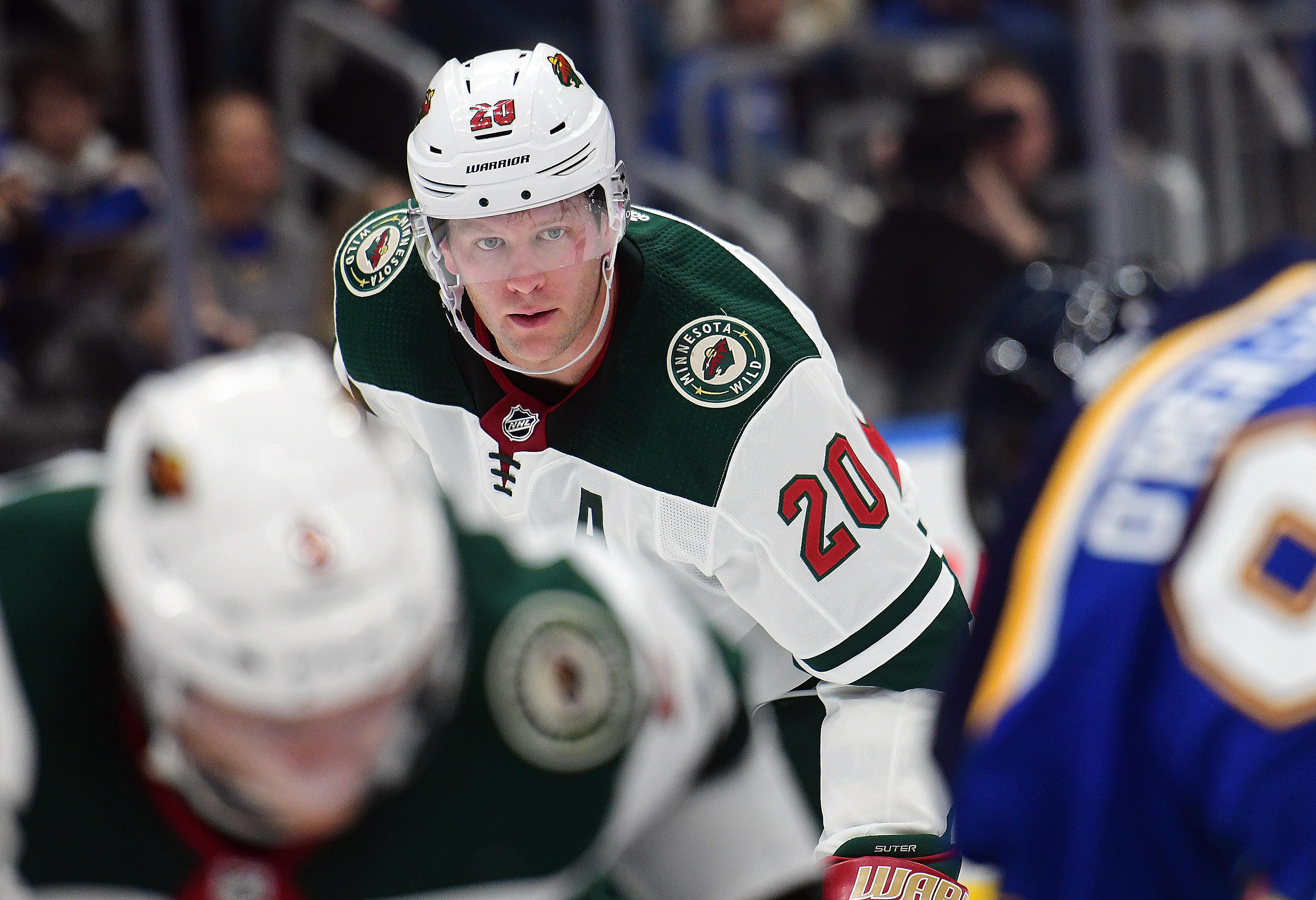 NHL: OCT 30 Wild at Blues