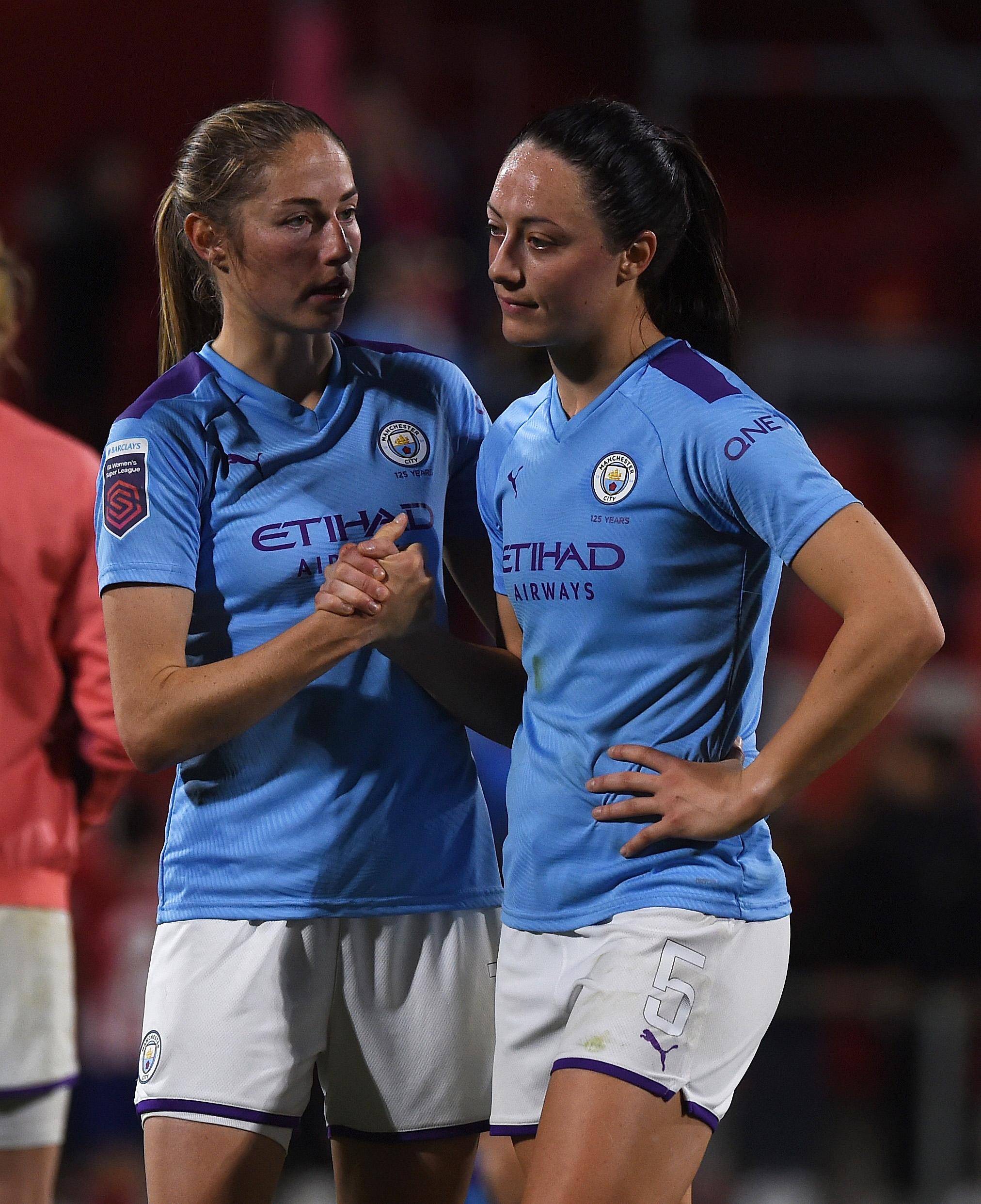 Atletico Madrid Femenino v Manchester City Women - UEFA Women's Champions League Round of 16: Second Leg
