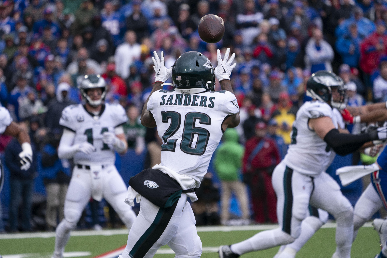 NFL: OCT 27 Eagles at Bills