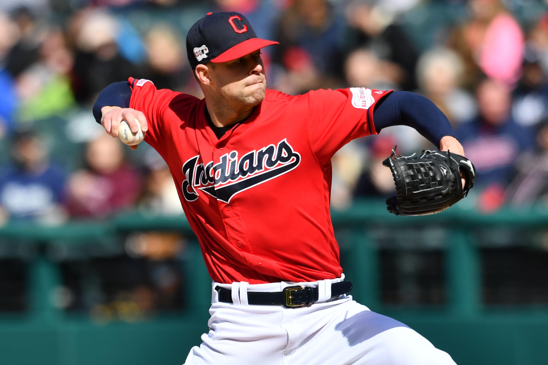 MLB: Game One-Atlanta Braves at Cleveland Indians