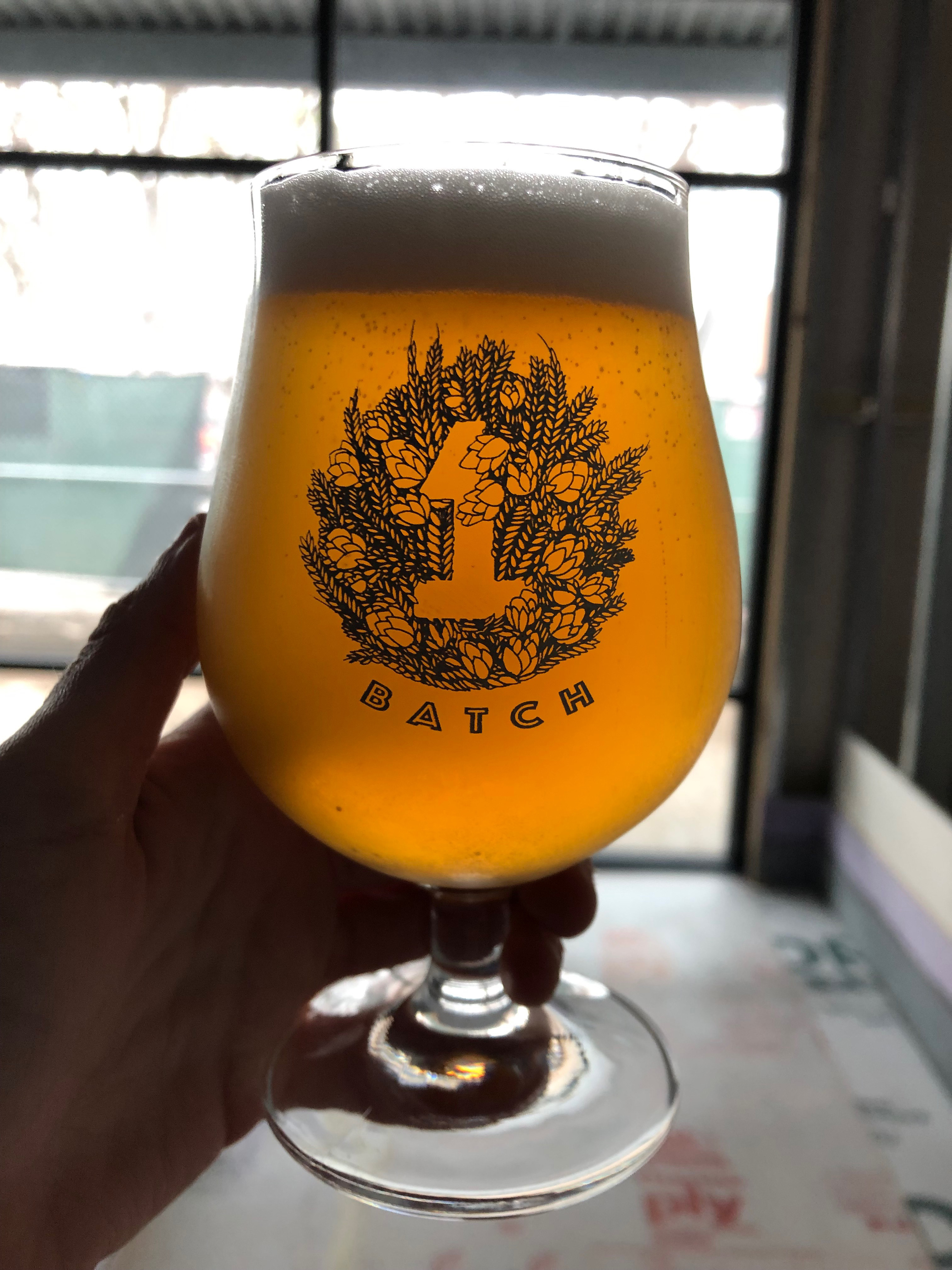 A beer from Batch