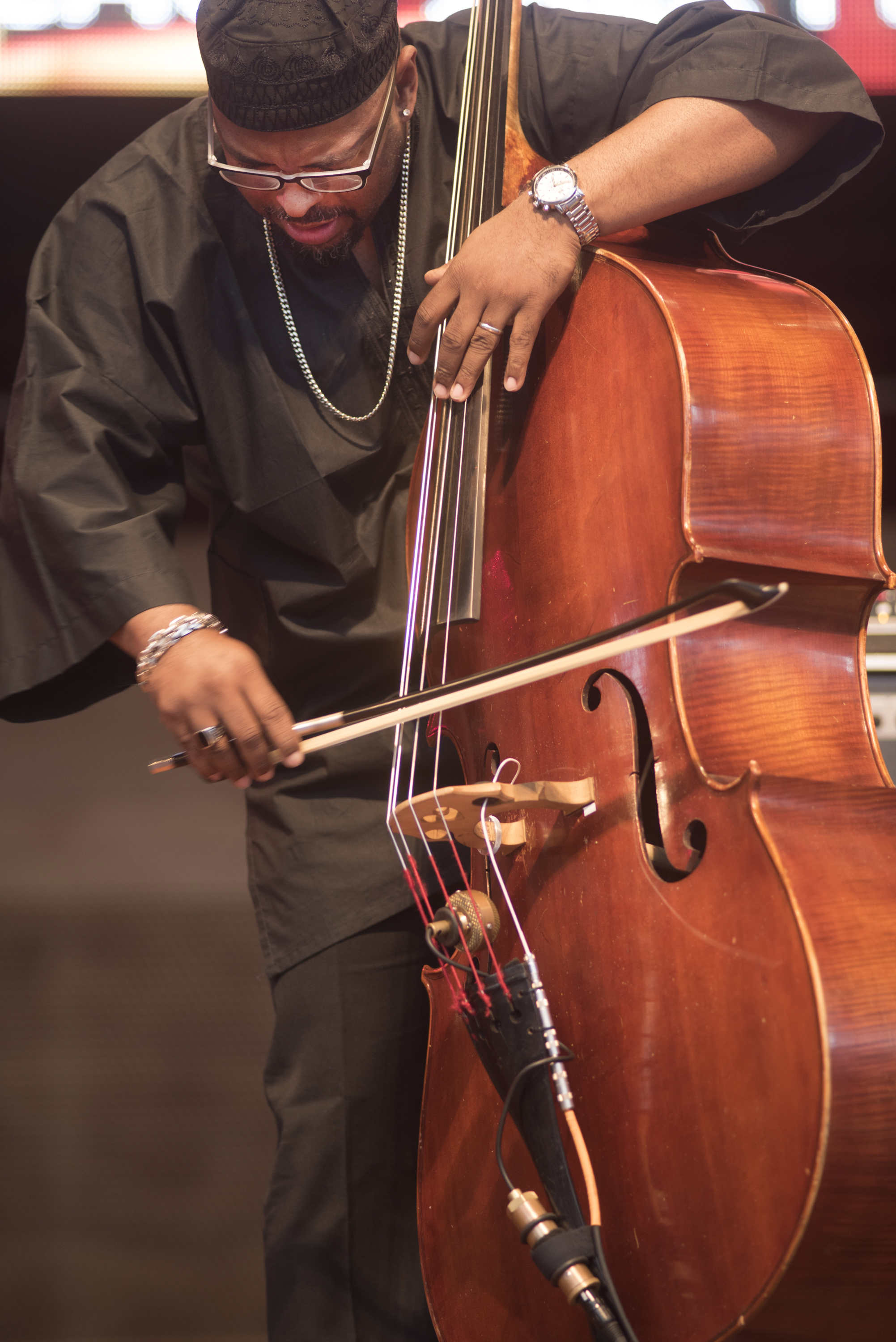 Christian McBride Performs On Stage