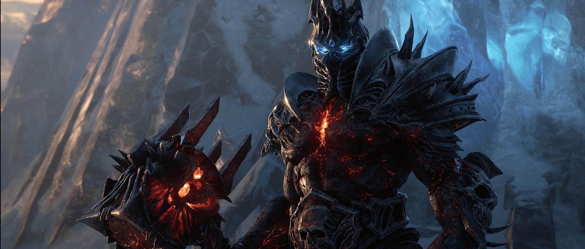 World of Warcraft - a CGI depiction of Bolvar Fordragon