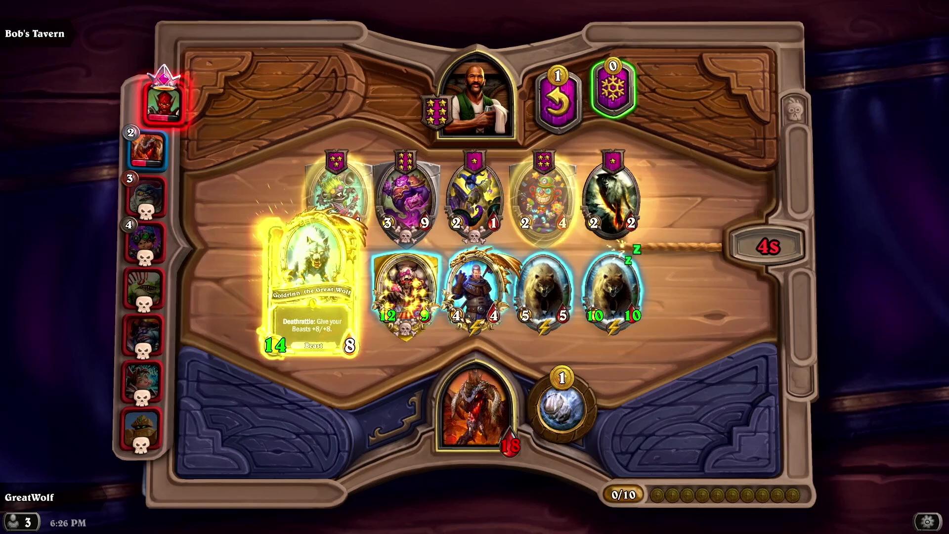 Blizzard announces Hearthstone Battlegrounds, a new autobattler set in the Warcraft Universe