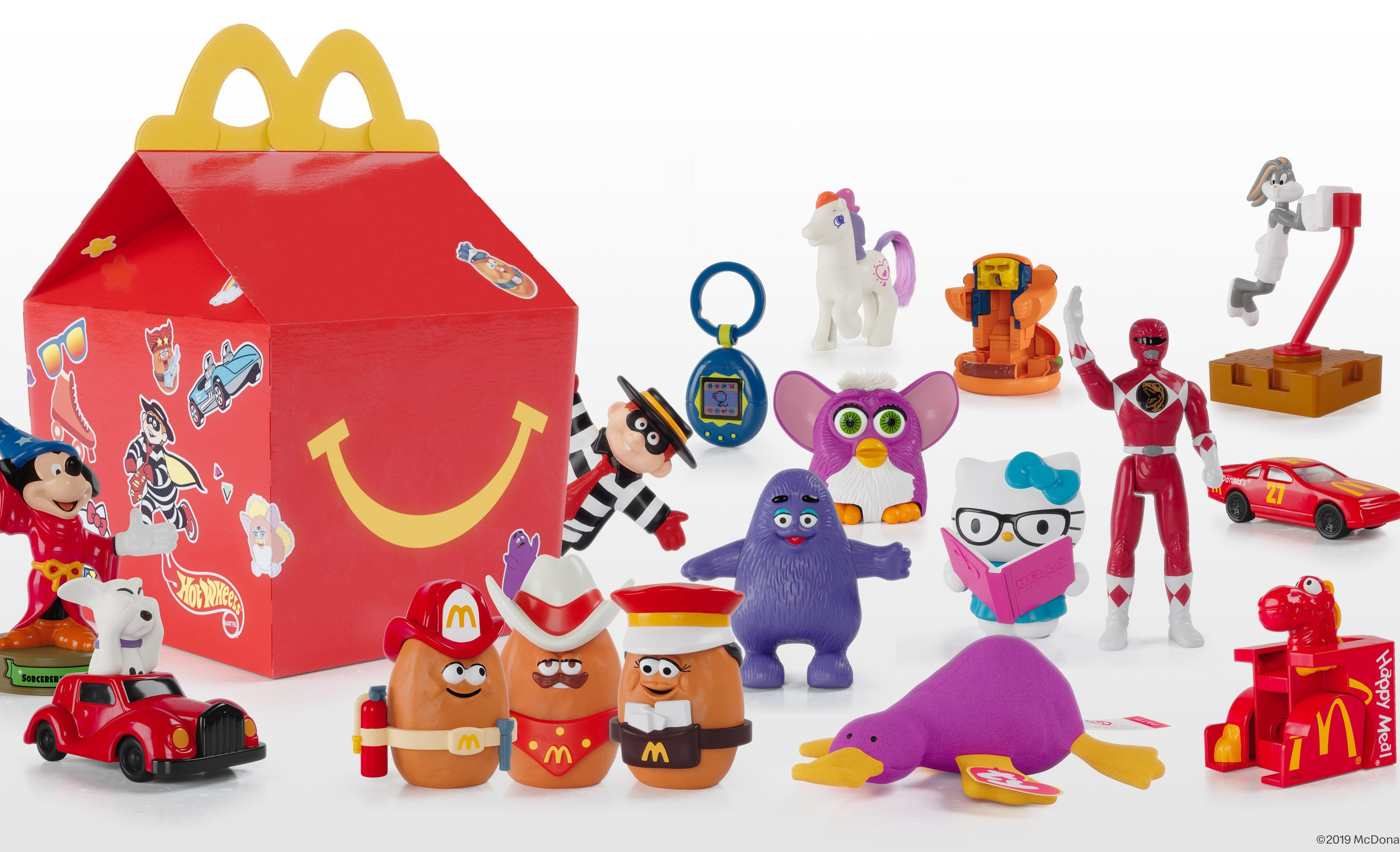 "McDonald's Surprise Happy Meals will feature one ""throwback"" toy from the past 40 years of Happy Meals."