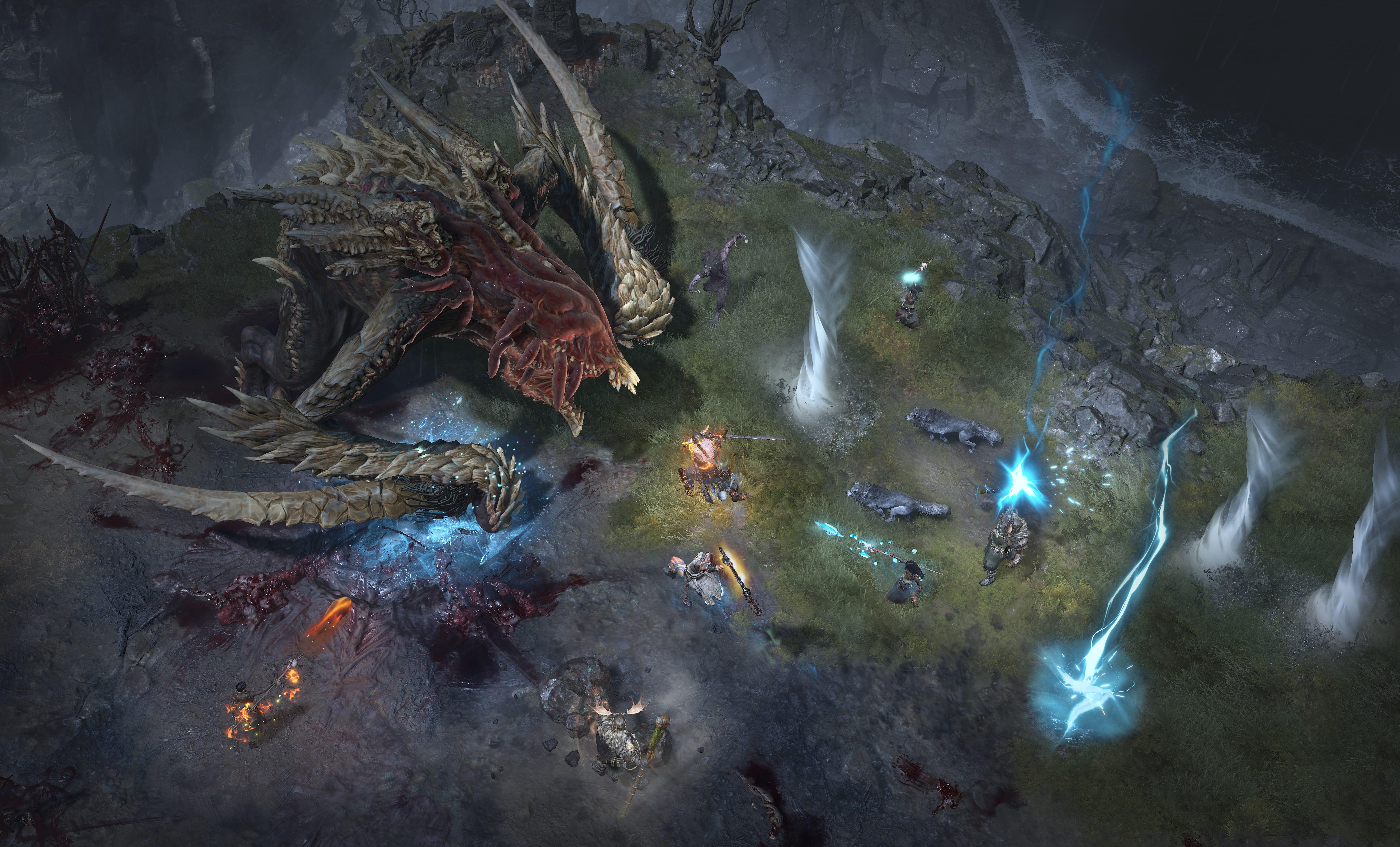 Diablo 4 world boss monster