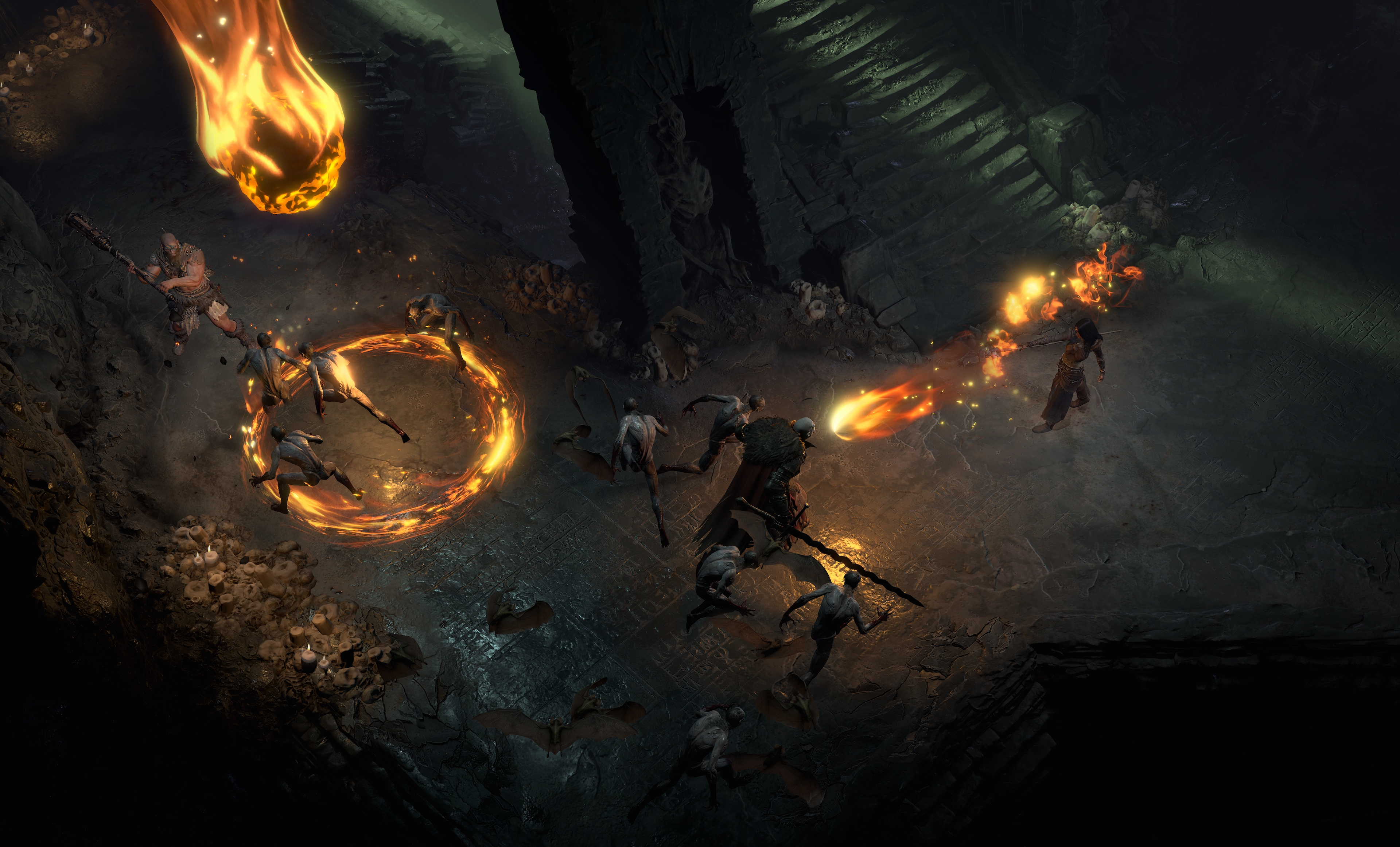 Here are the abilities for Diablo 4's three announced playable classes