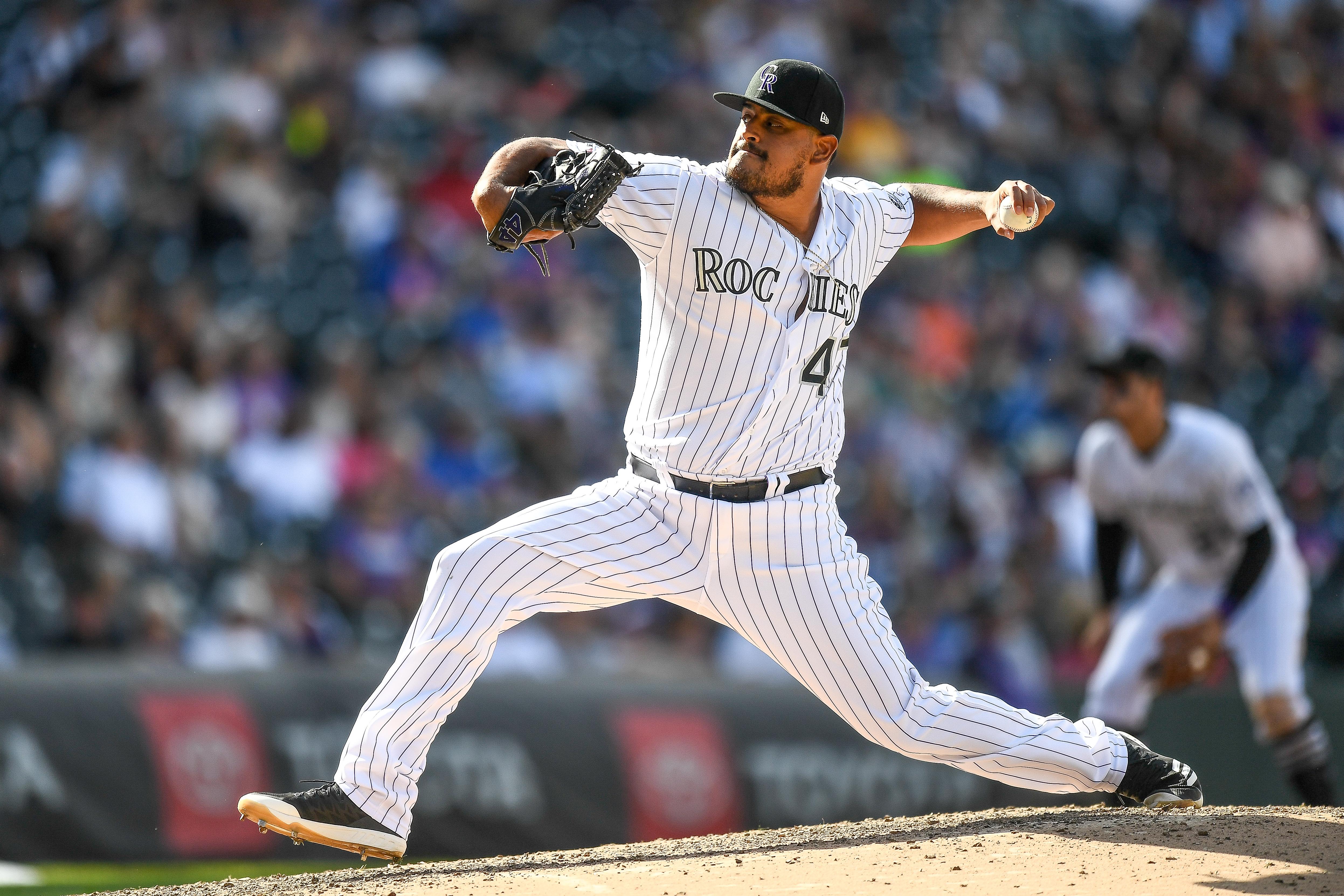 MLB: SEP 18 Mets at Rockies