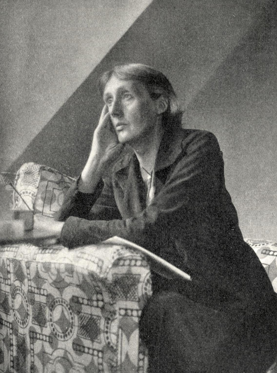 Virginia Woolf - portrait of the English novelist and essayist.