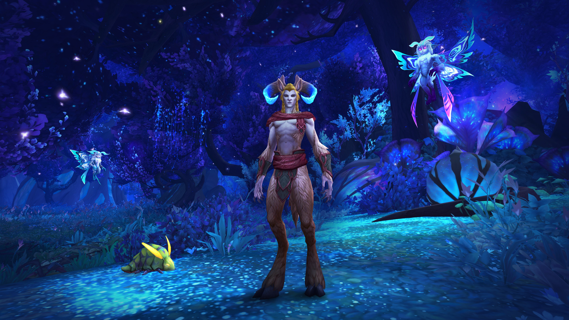 World of Warcraft: Shadowlands character faetures