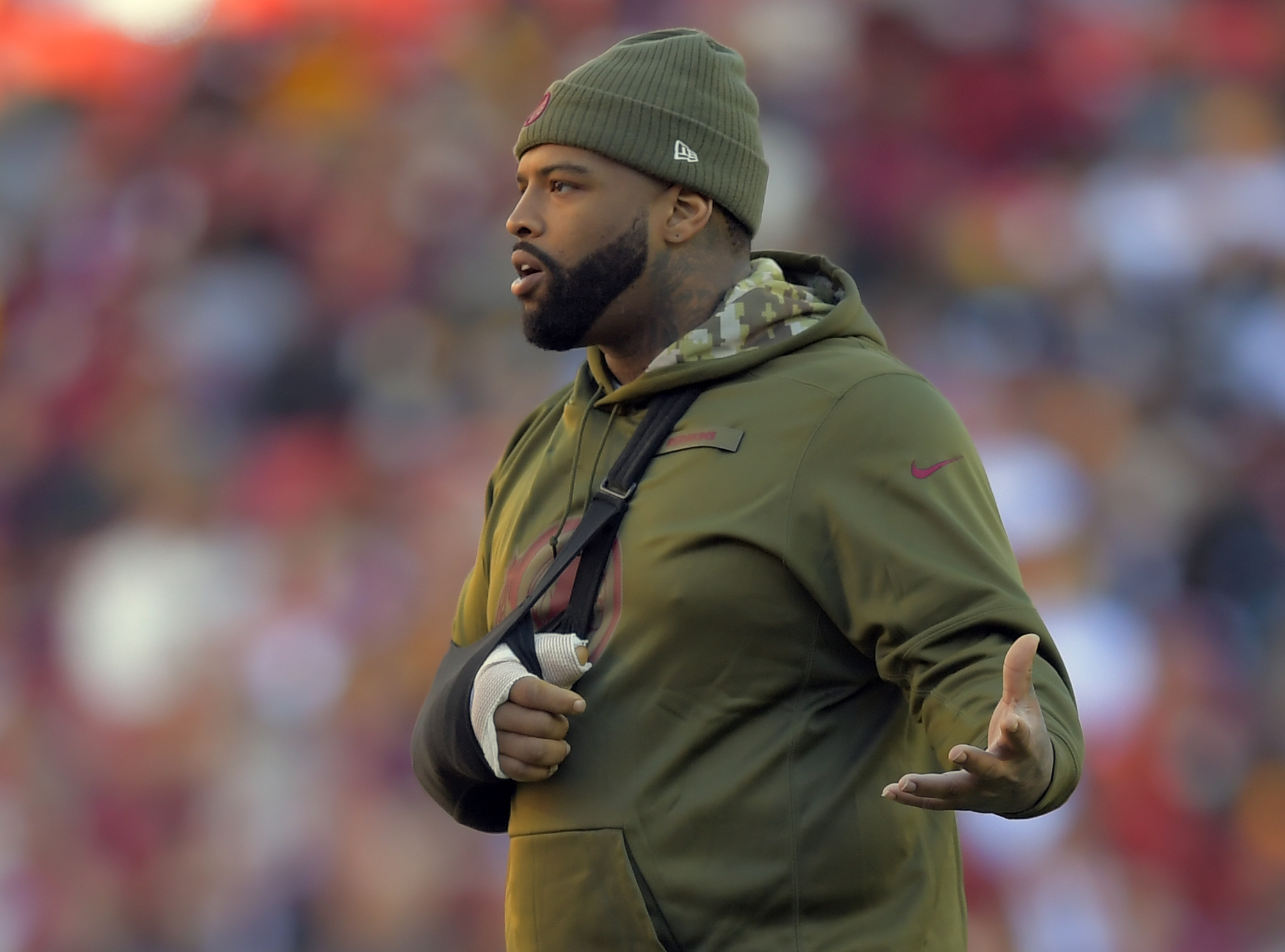 Washington Redskins and the Atlanta Falcons