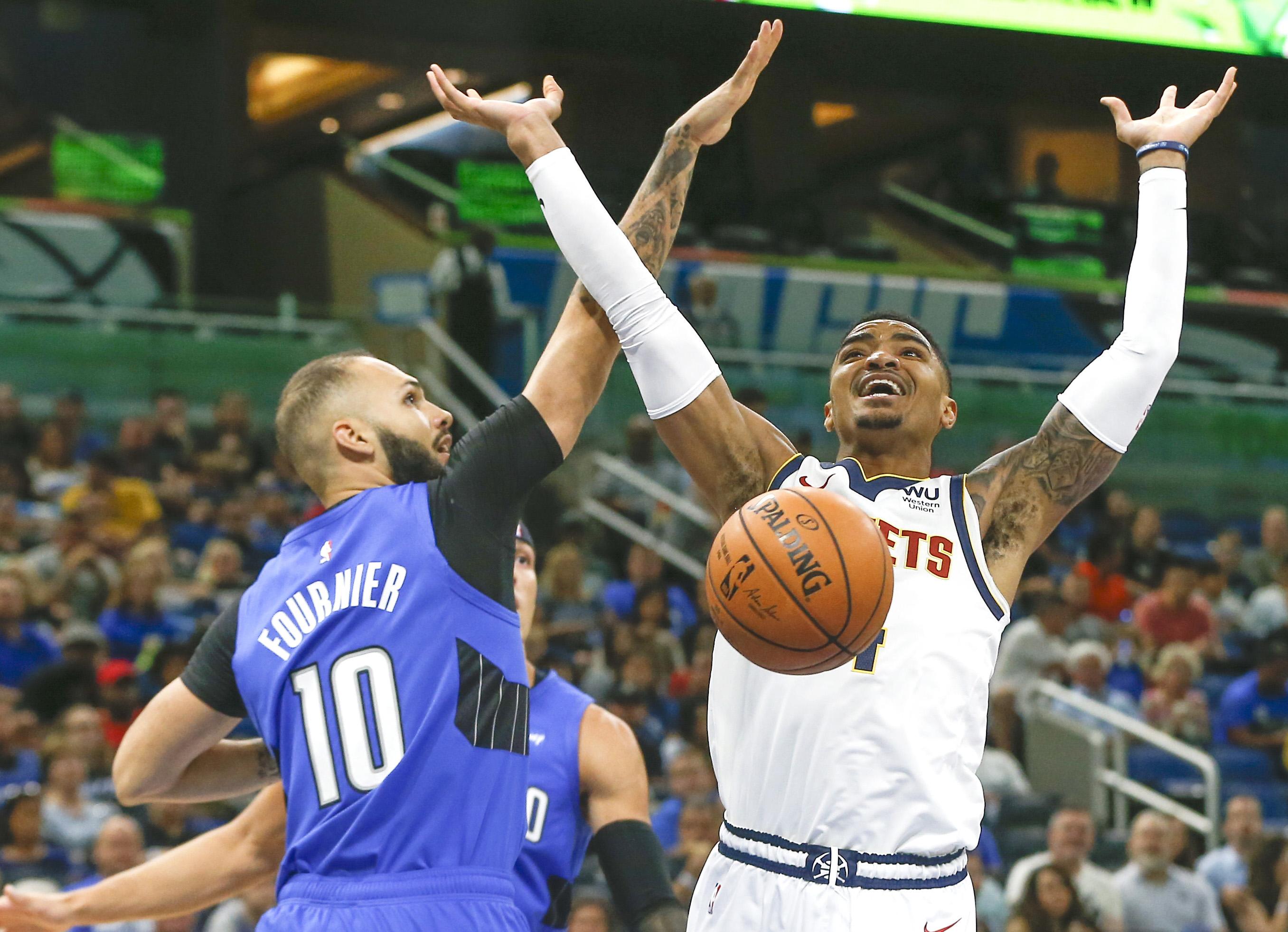 NBA: Denver Nuggets at Orlando Magic