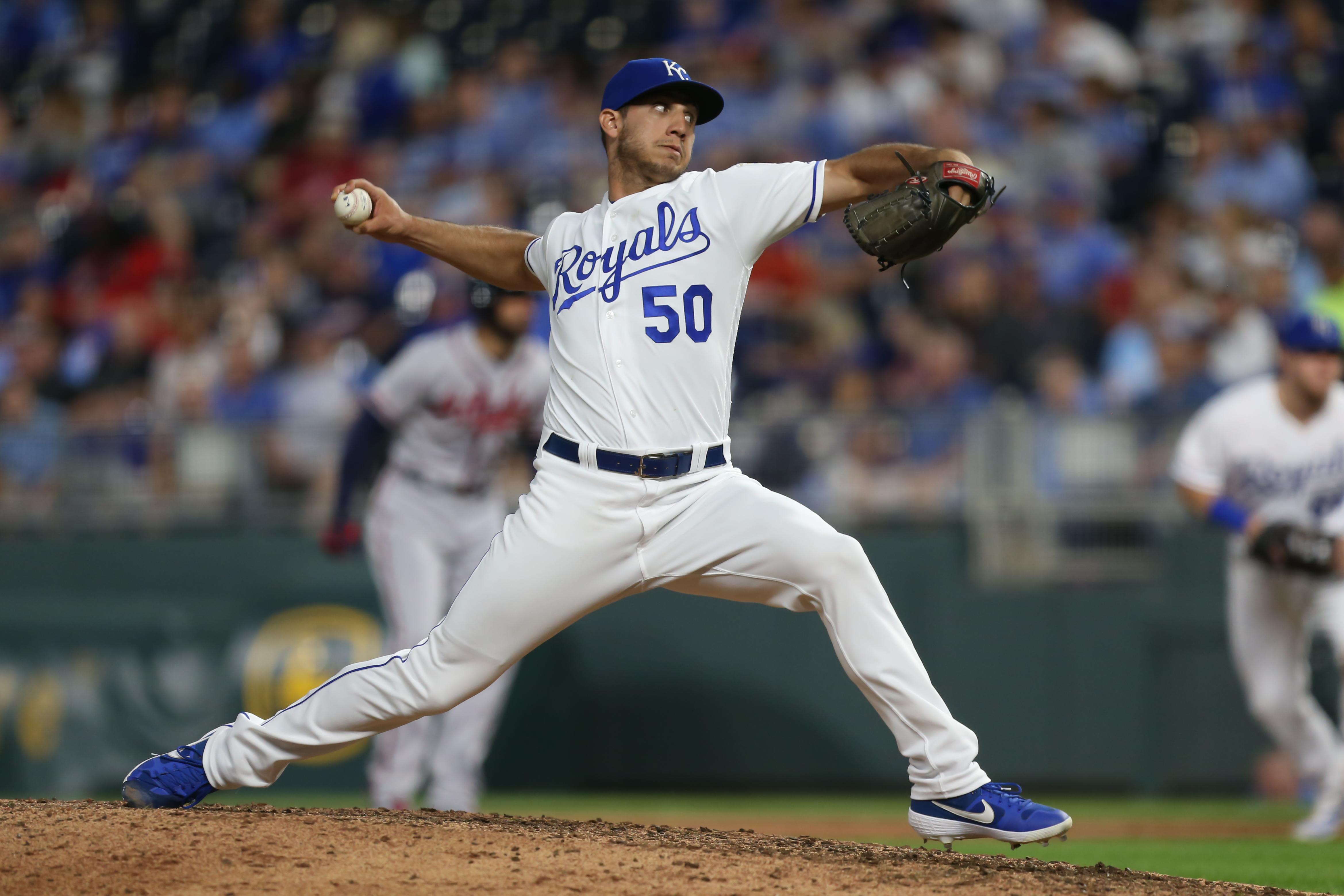 MLB: SEP 25 Braves at Royals