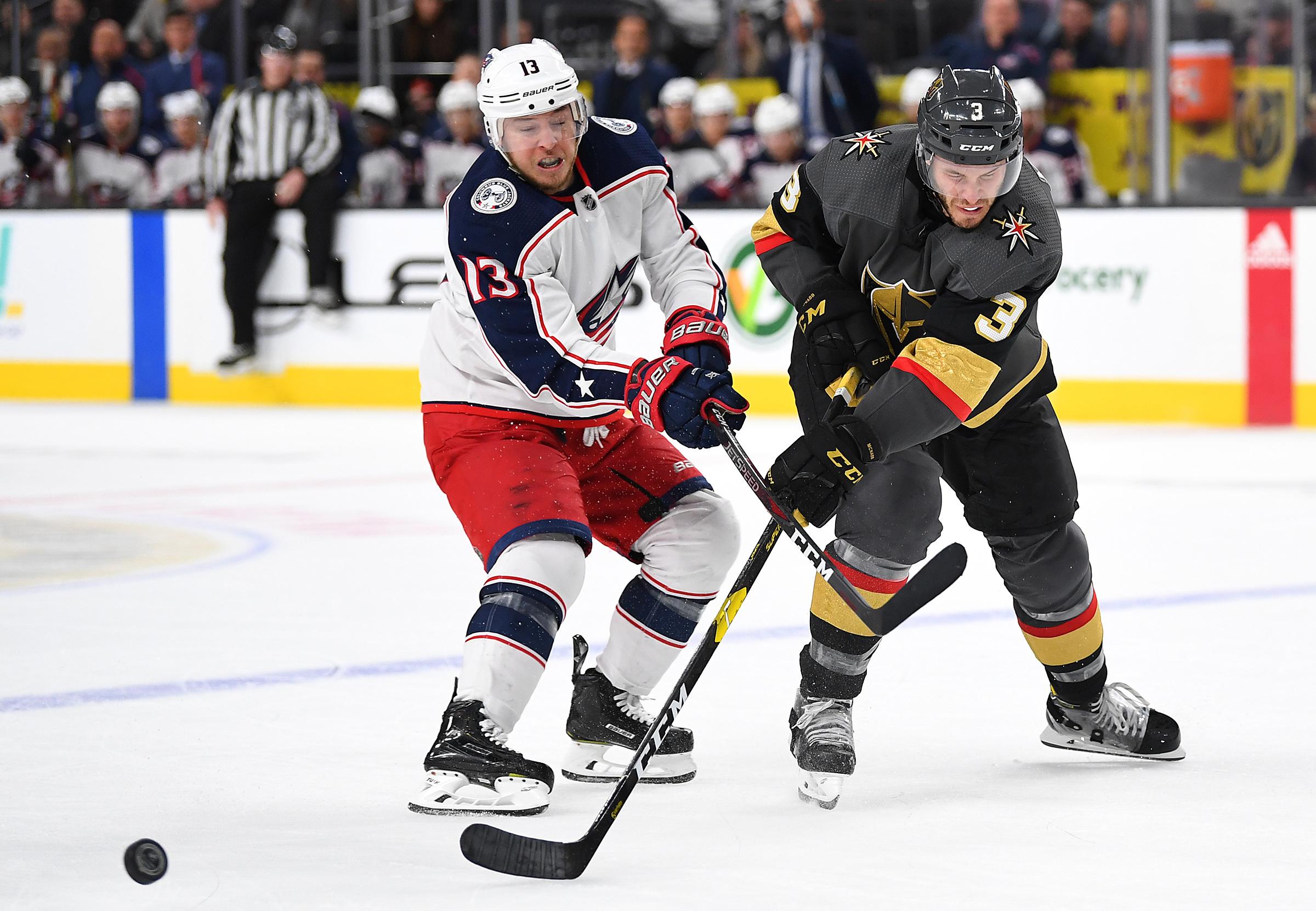 NHL: Columbus Blue Jackets at Vegas Golden Knights