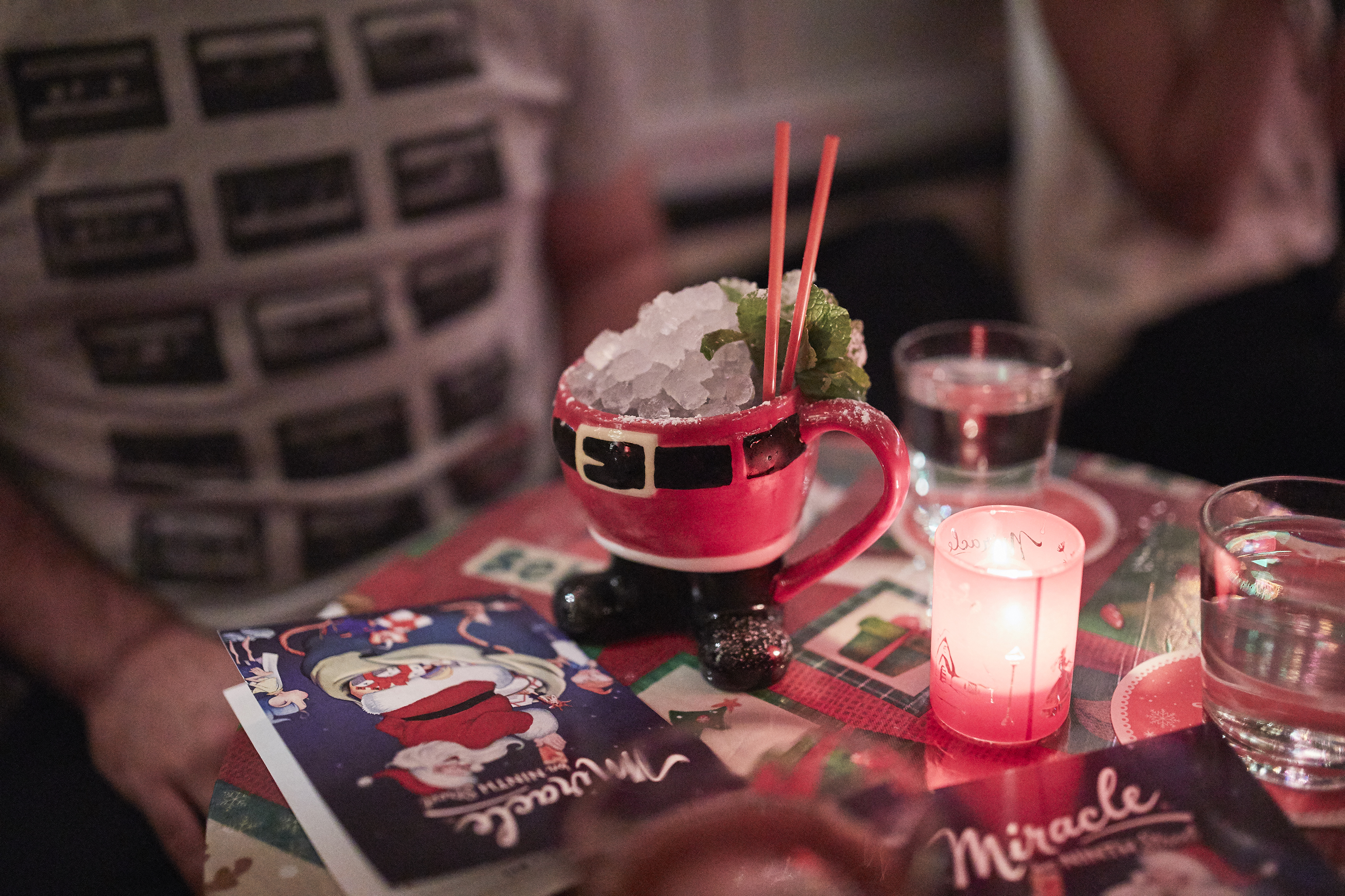 Bode Nashville Gets Festive With This Christmas-Themed Pop-up Bar