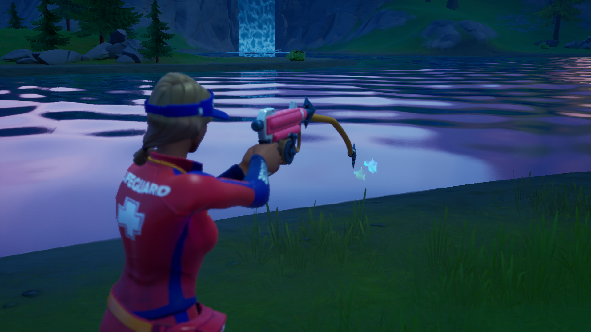 Fortnite adds a harpoon gun for extreme fishing