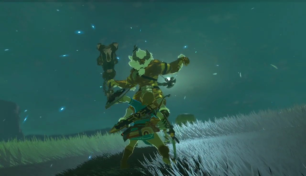 You gotta see this Breath of the Wild expert utterly destroy a Lynel
