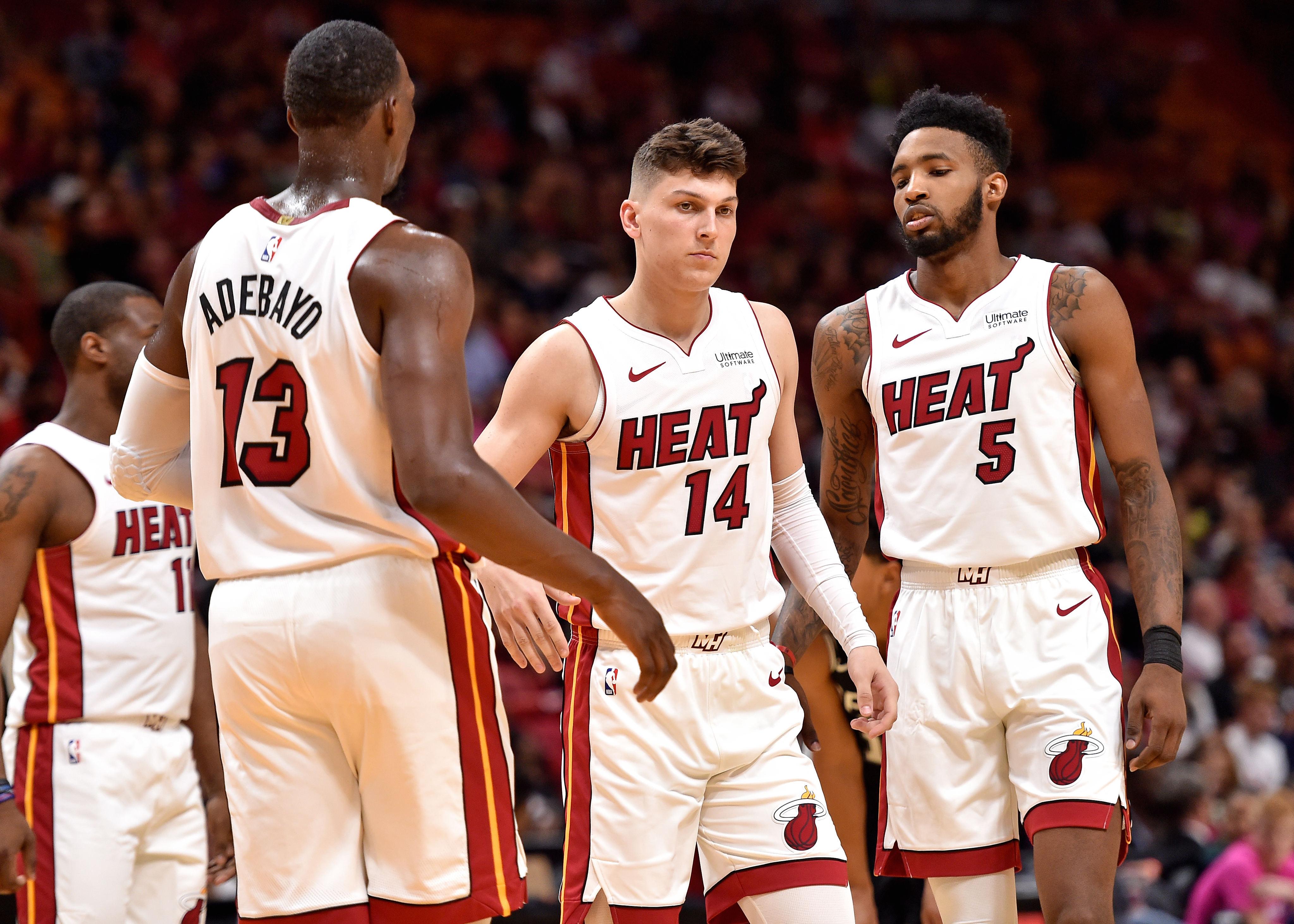 NBA: Preseason-San Antonio Spurs at Miami Heat