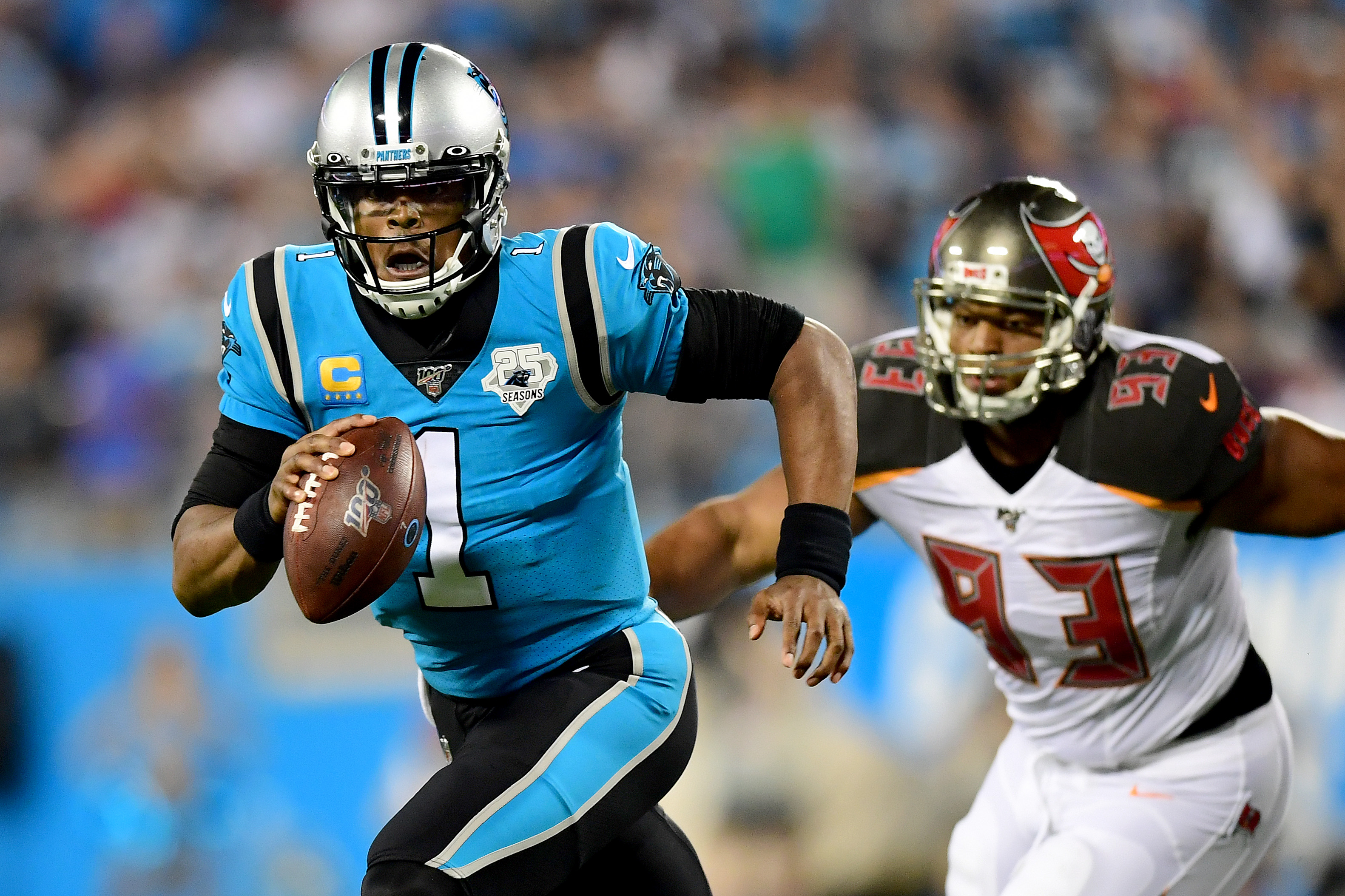 Has Cam Newton played his last game for the Panthers?