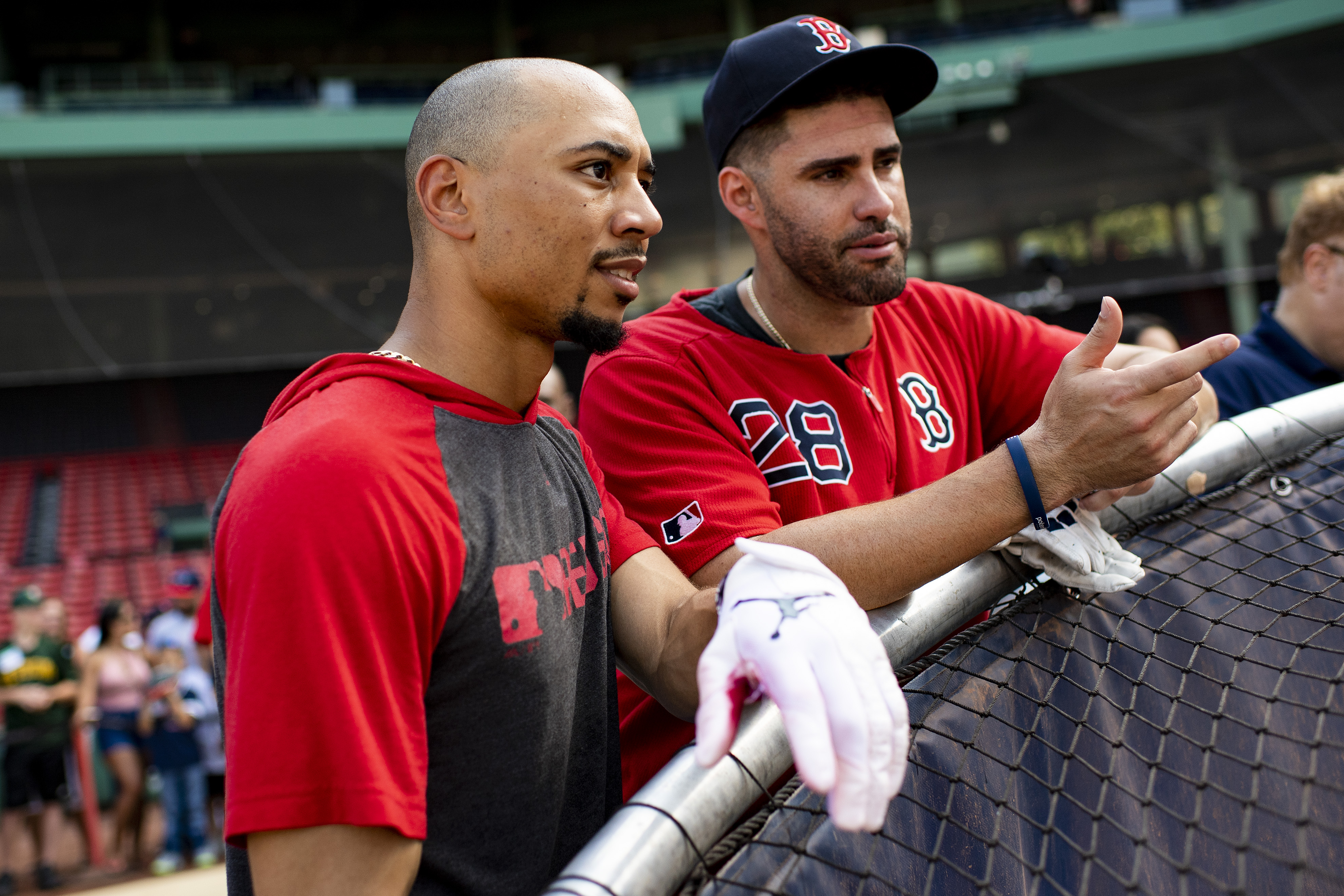 Oh no, an excellent hitter returned to the Red Sox! What ever will they do?