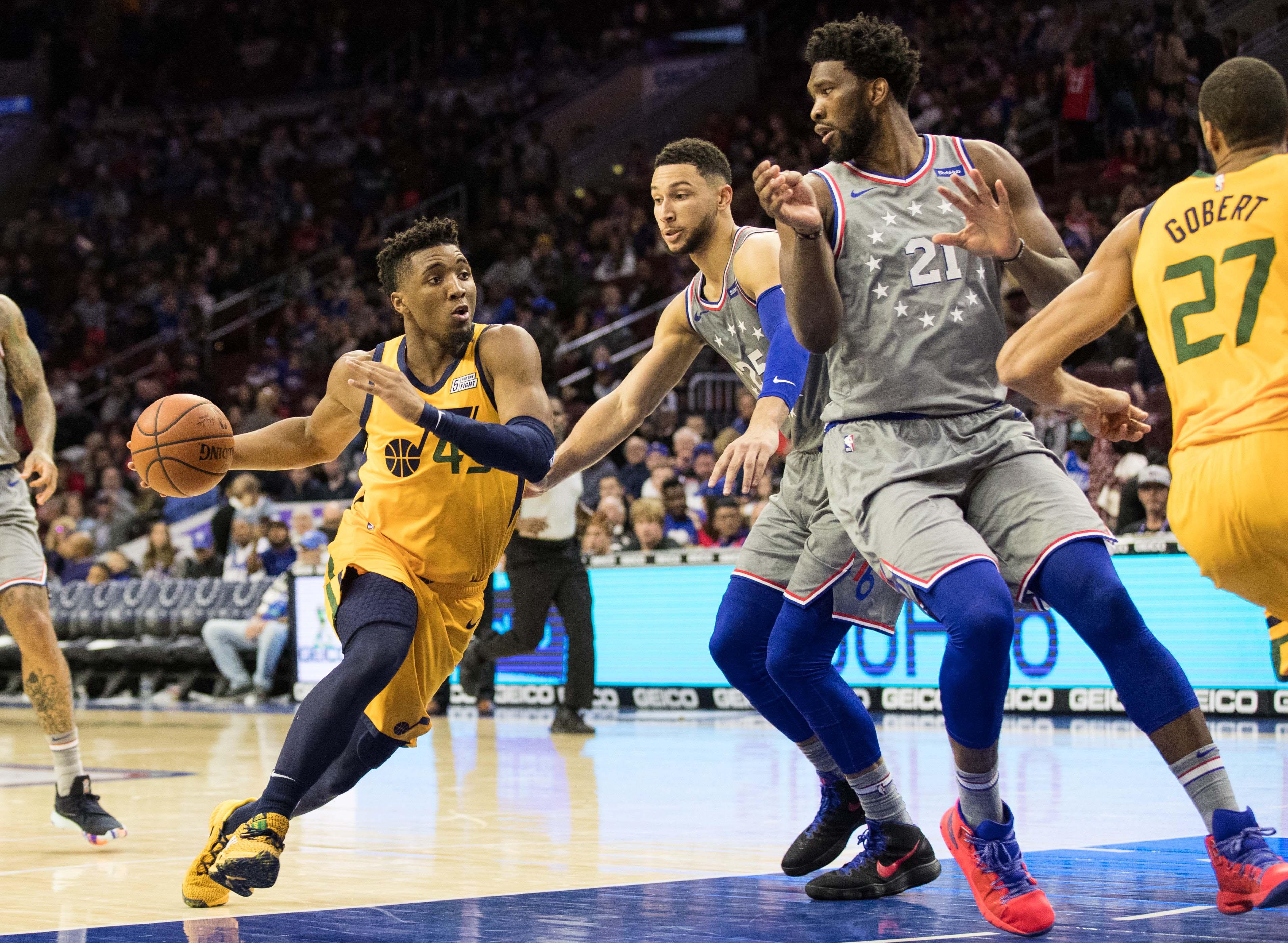 NBA: Utah Jazz at Philadelphia 76ers