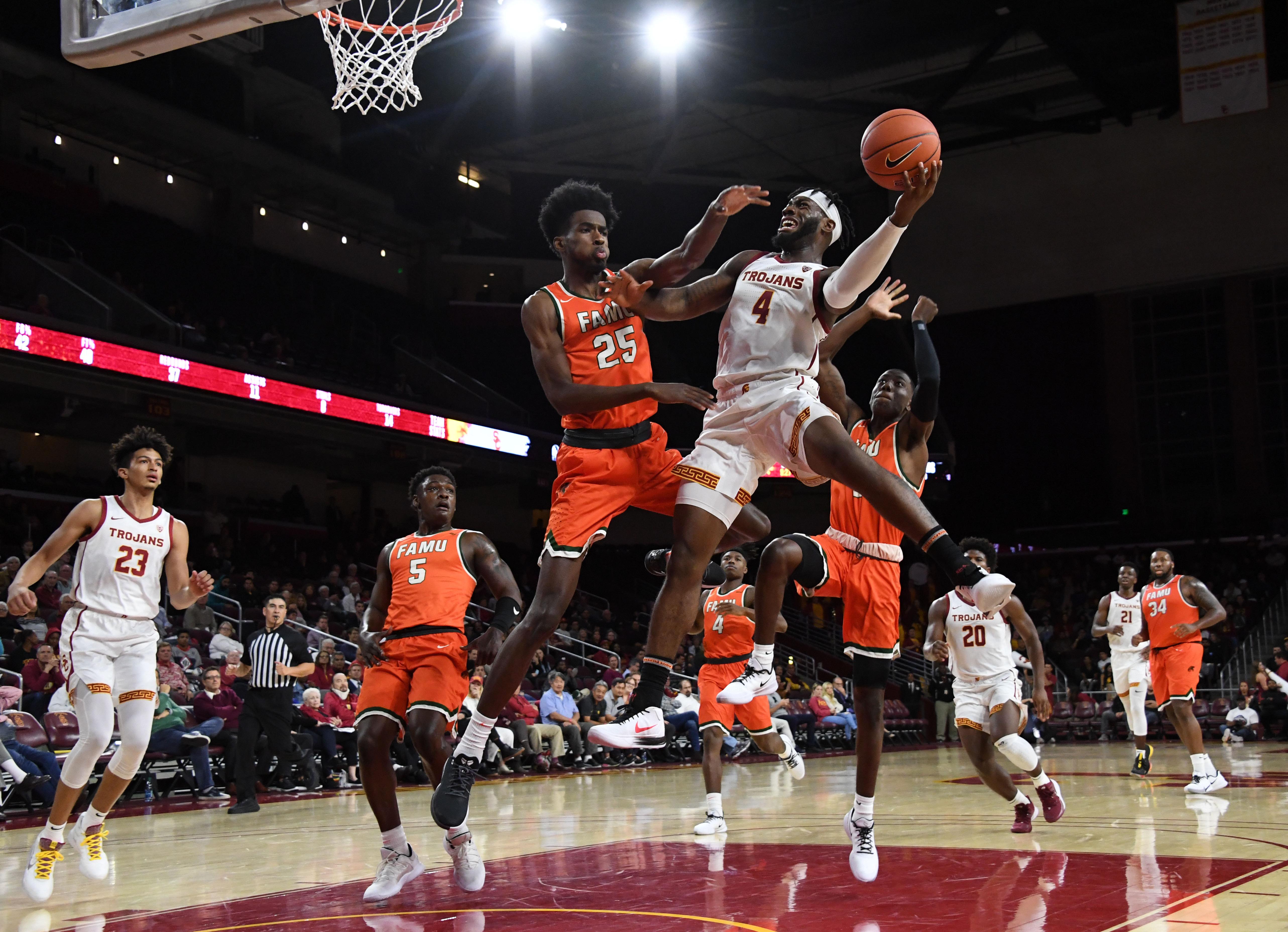 NCAA Basketball: Florida A&M at Southern California