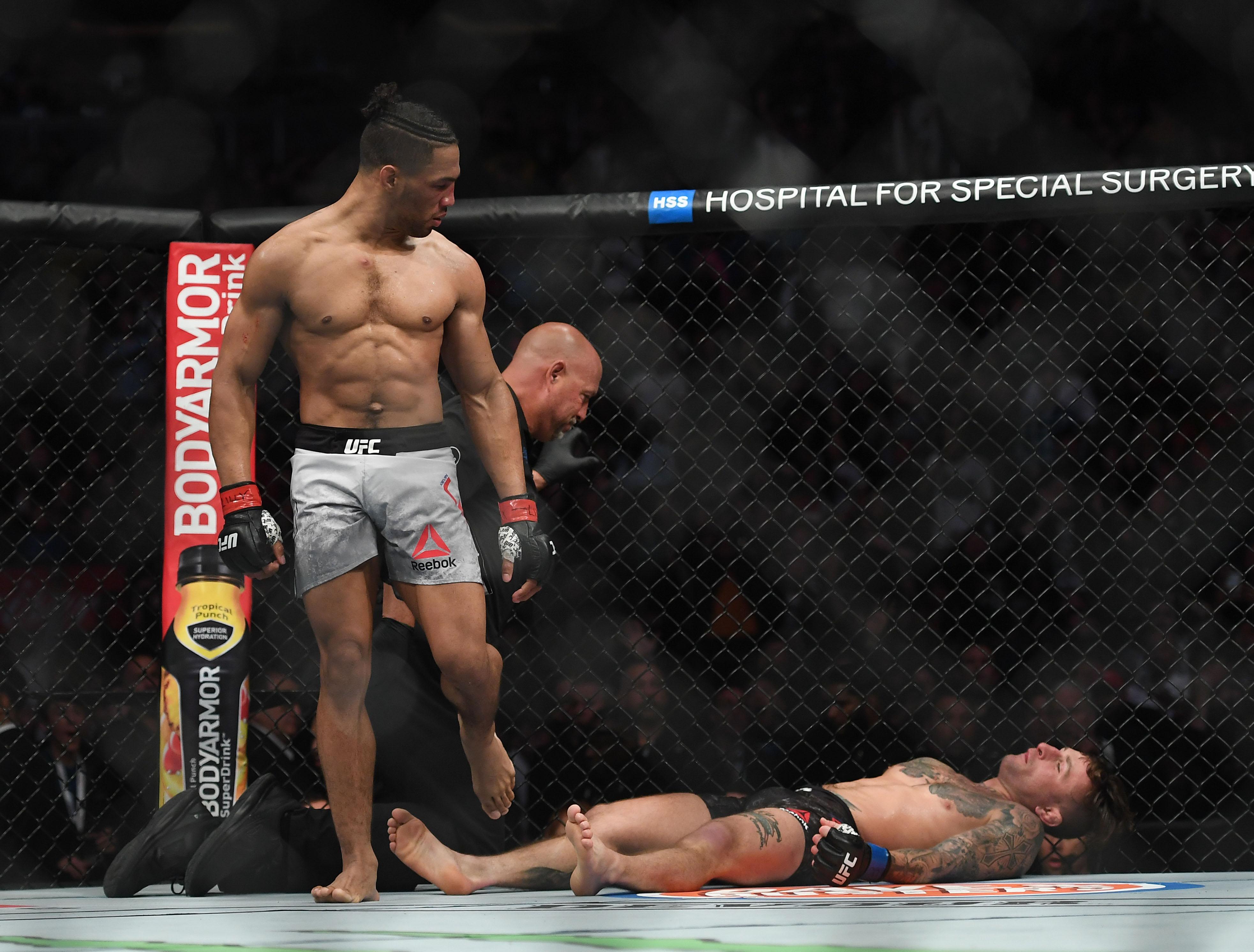 MMA: UFC 244-Lee vs Gillespie
