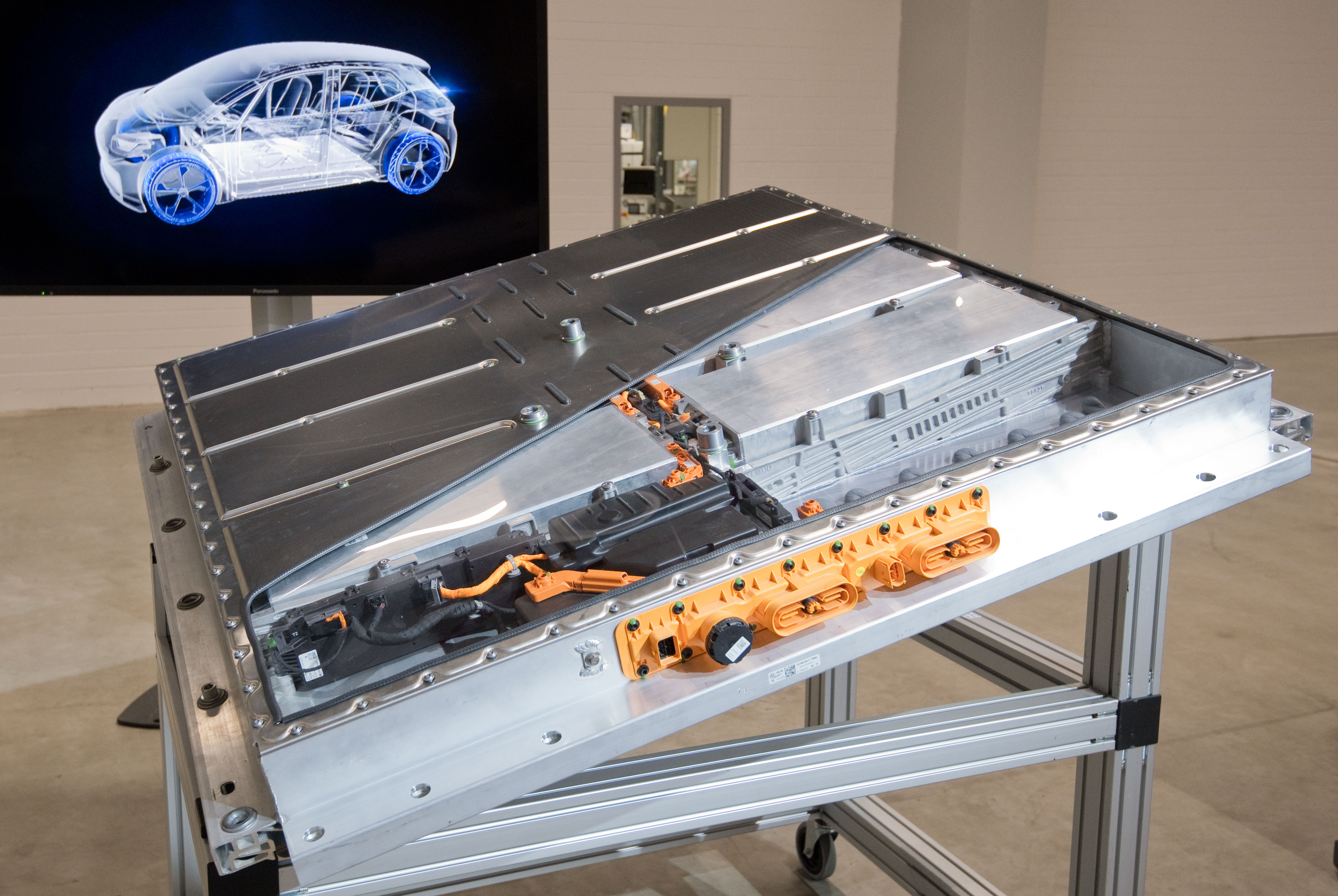 Volkswagen - Production of battery cells for electric cars