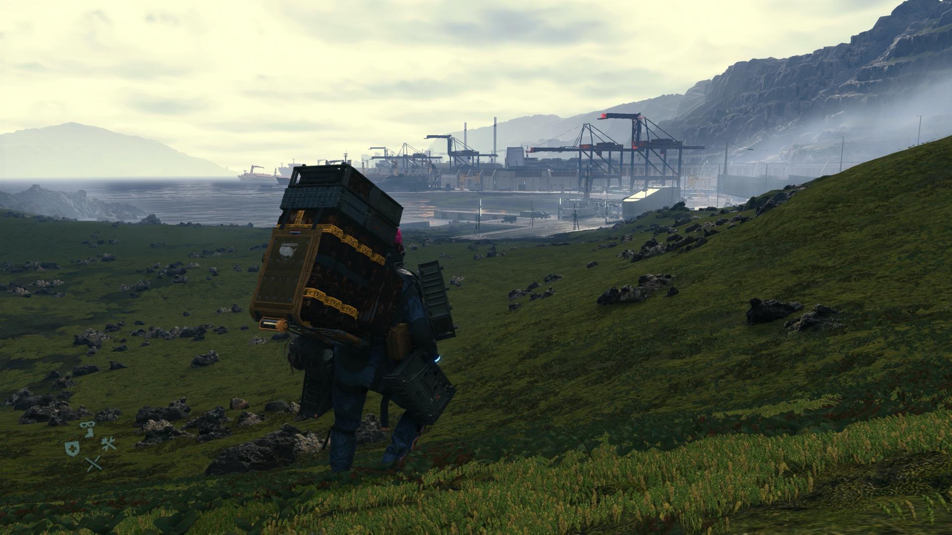 Death Stranding entrusting cargo guide