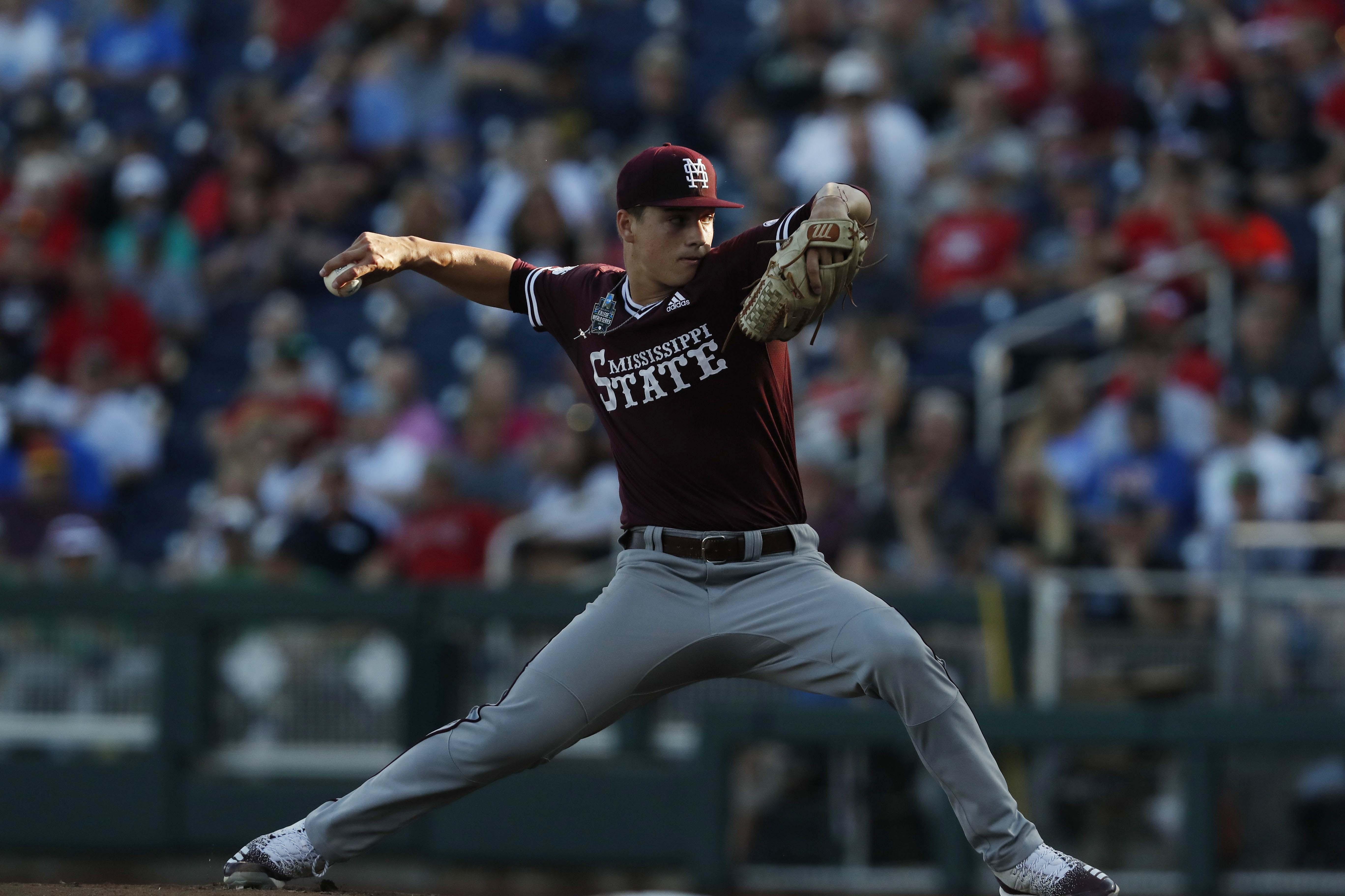 NCAA Baseball: College World Series-Louisville vs Mississippi State