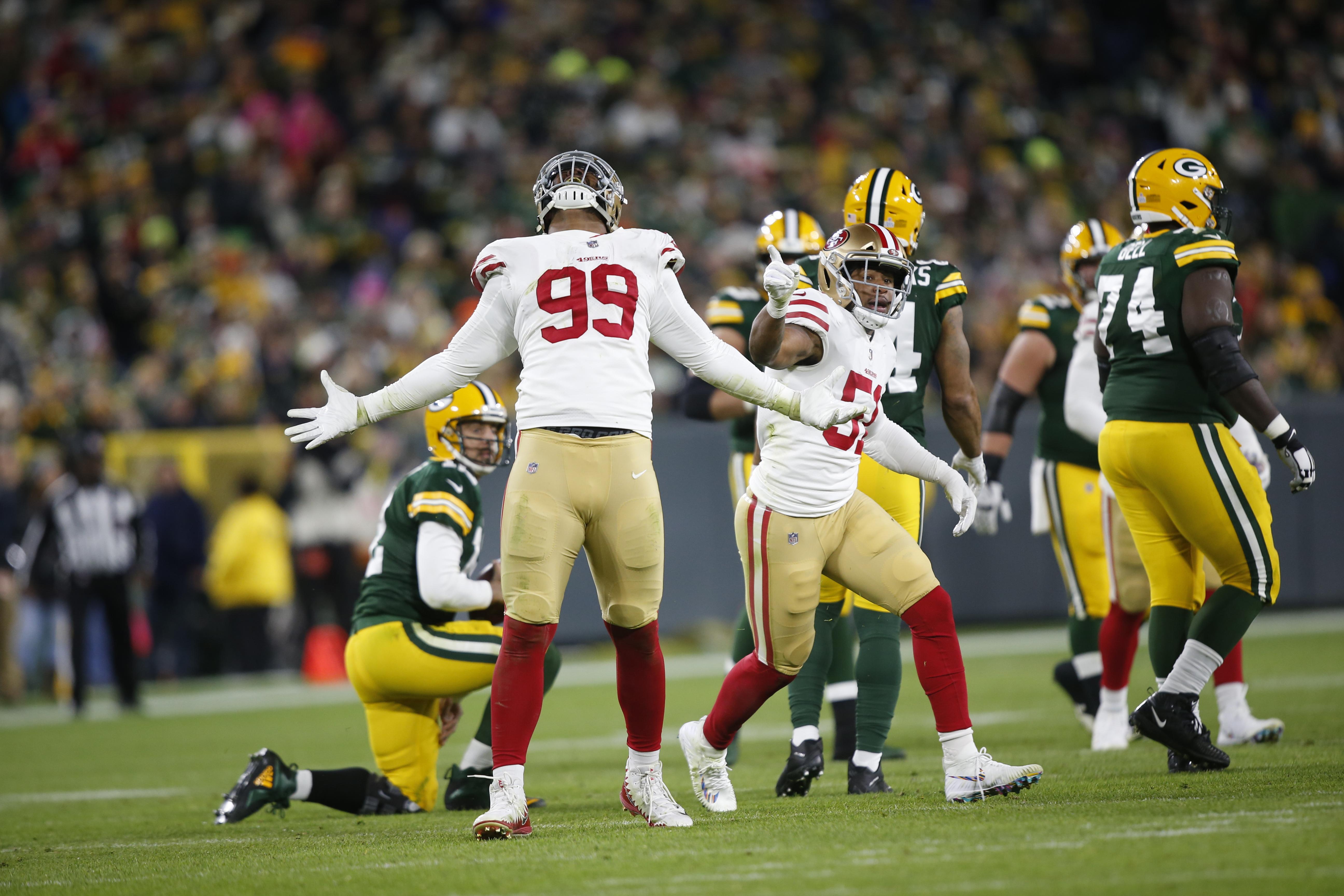 San Francisco 49ers v Green Bay Packers