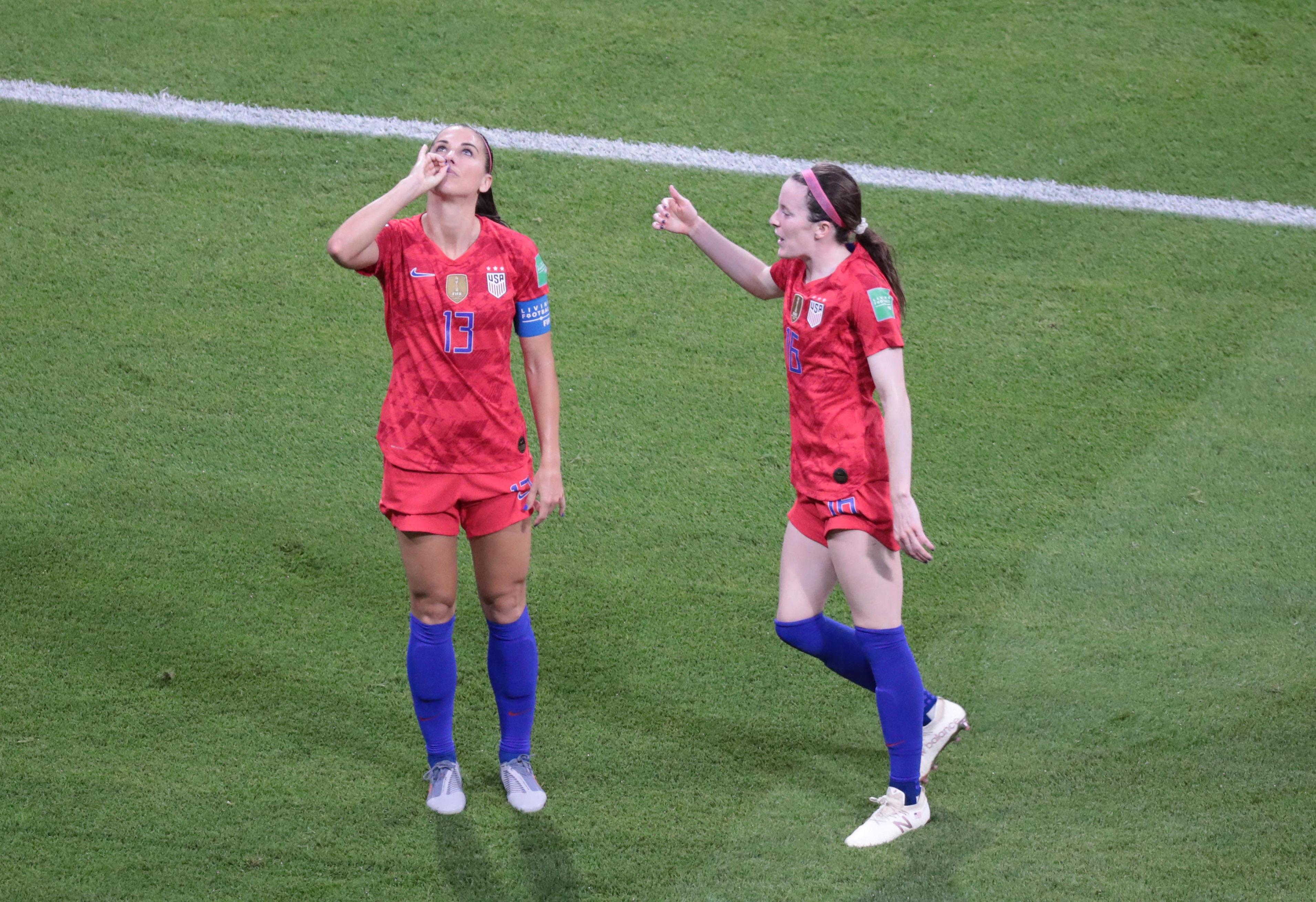 Soccer: Womens World Cup-England vs USA