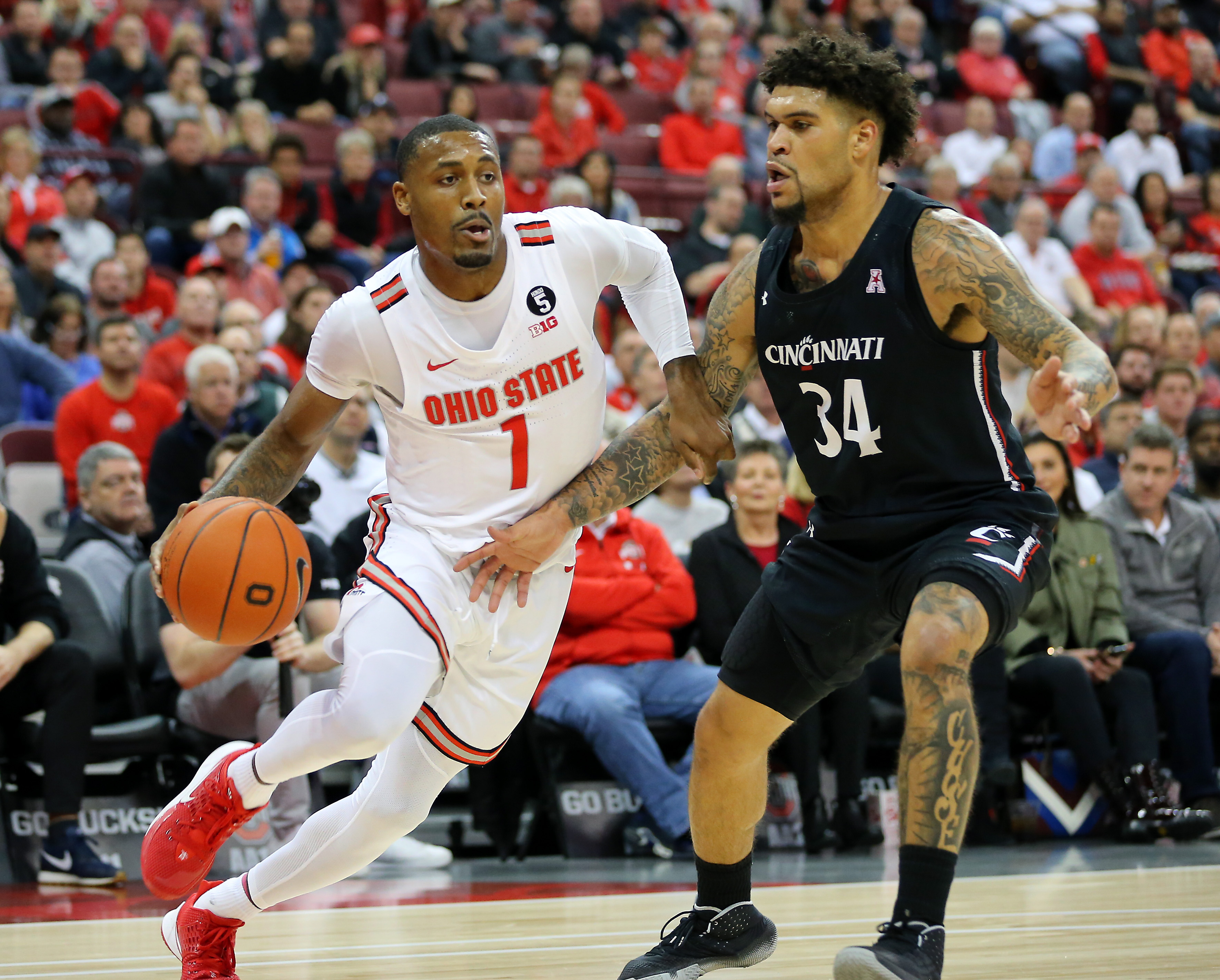 NCAA Basketball: Cincinnati at Ohio State