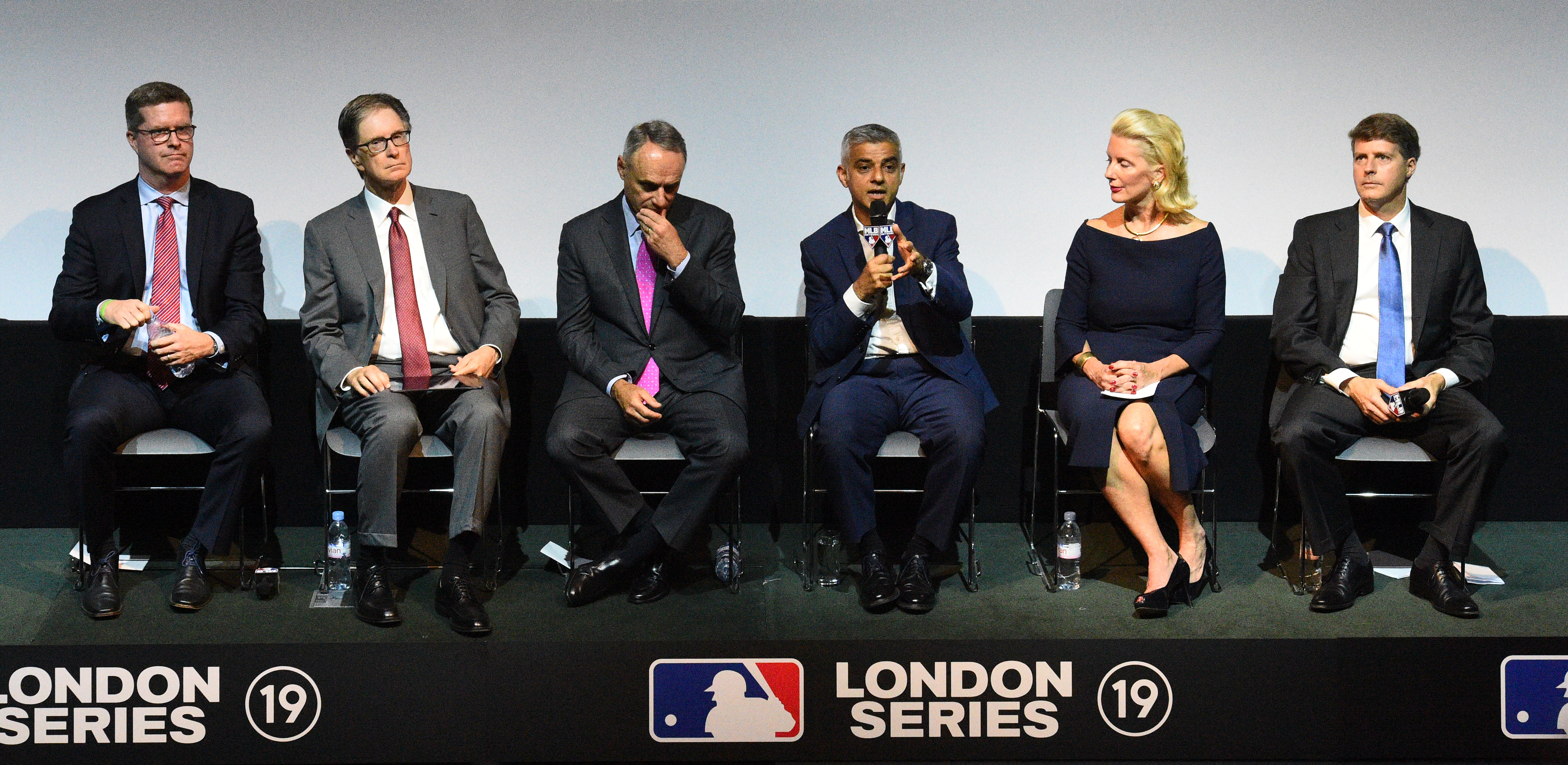 Major League Baseball London Announcement - Regent Street Cinema