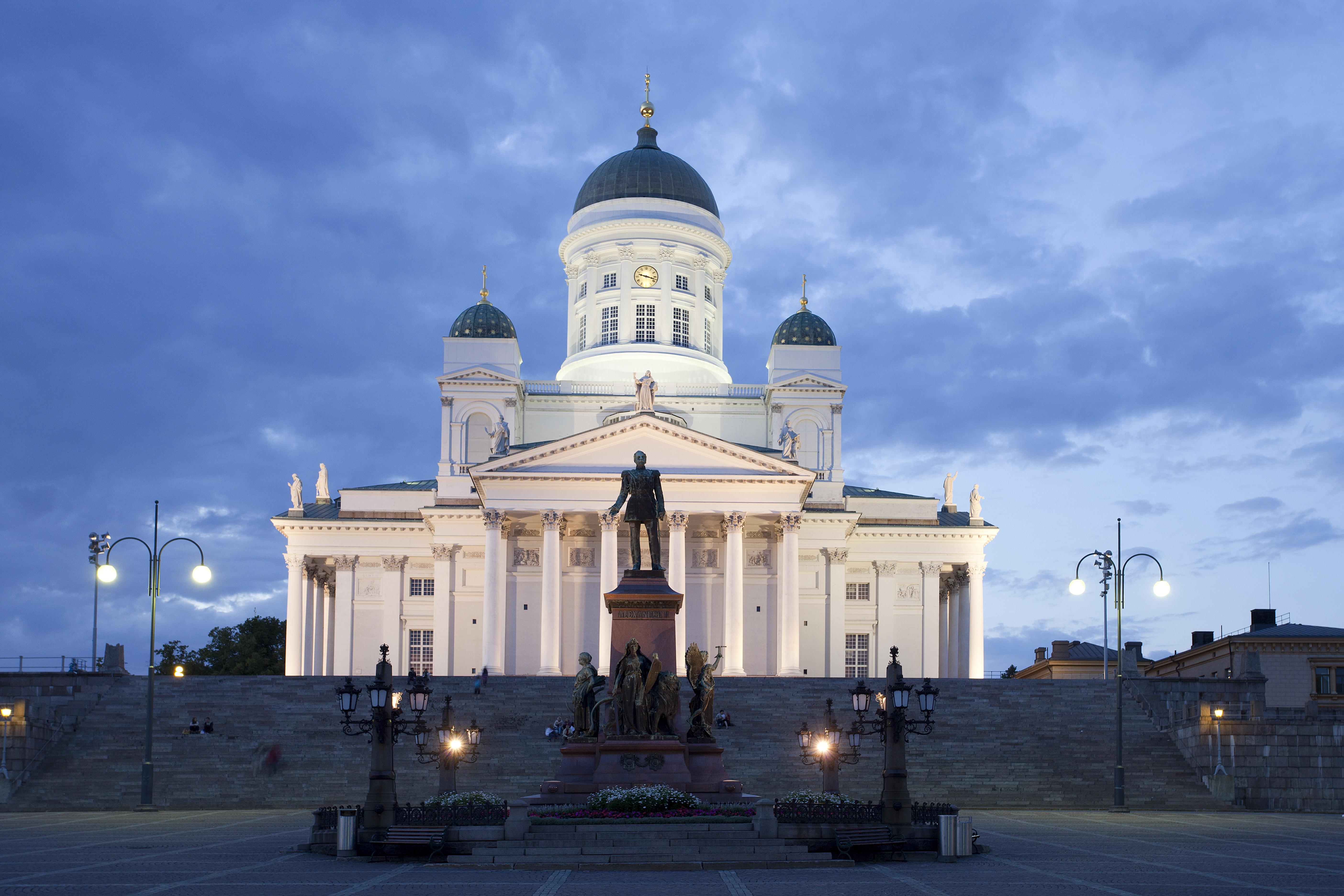 San Nicolas Cathedral, Helsinki City, Finland
