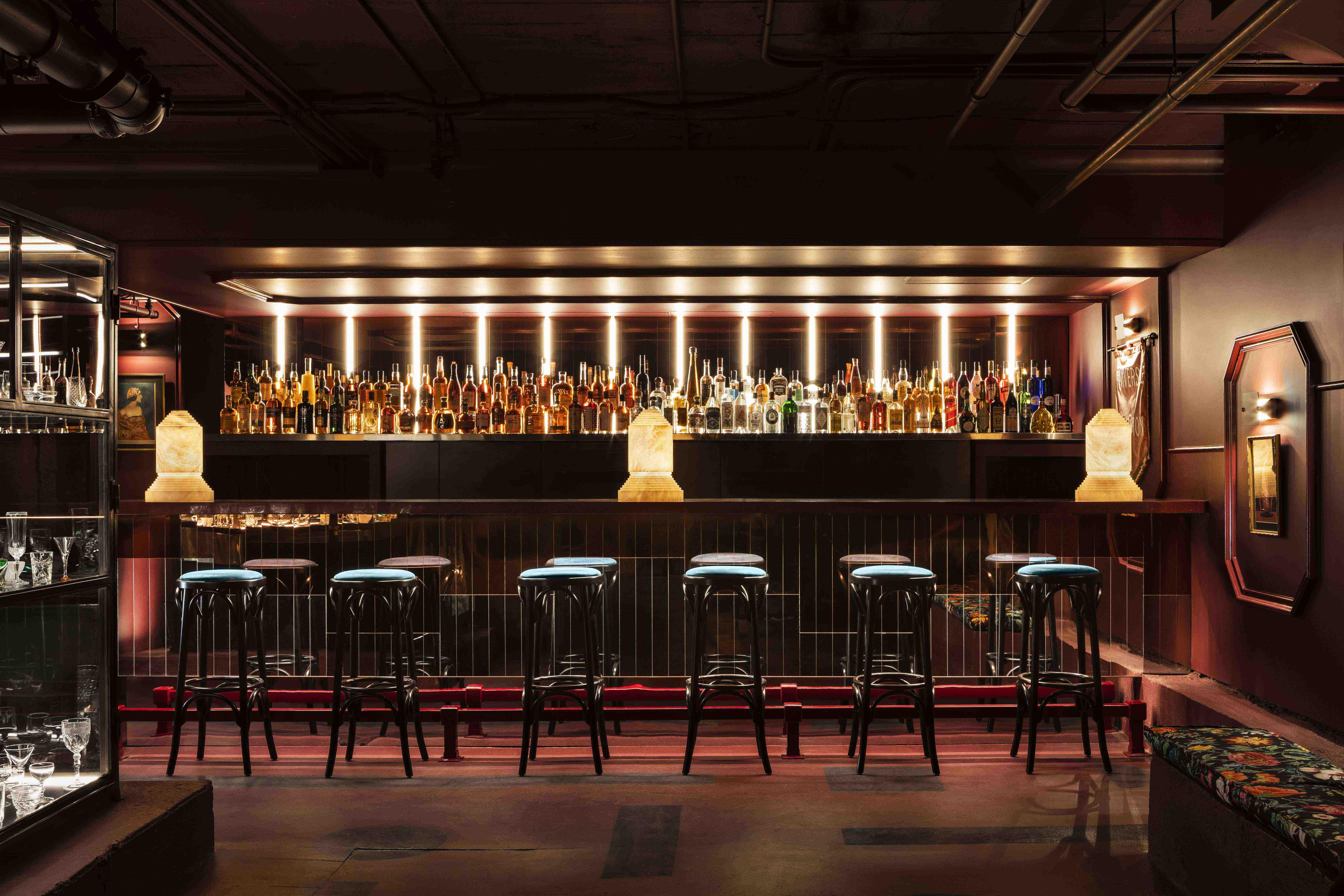 Voysey's stunning bar
