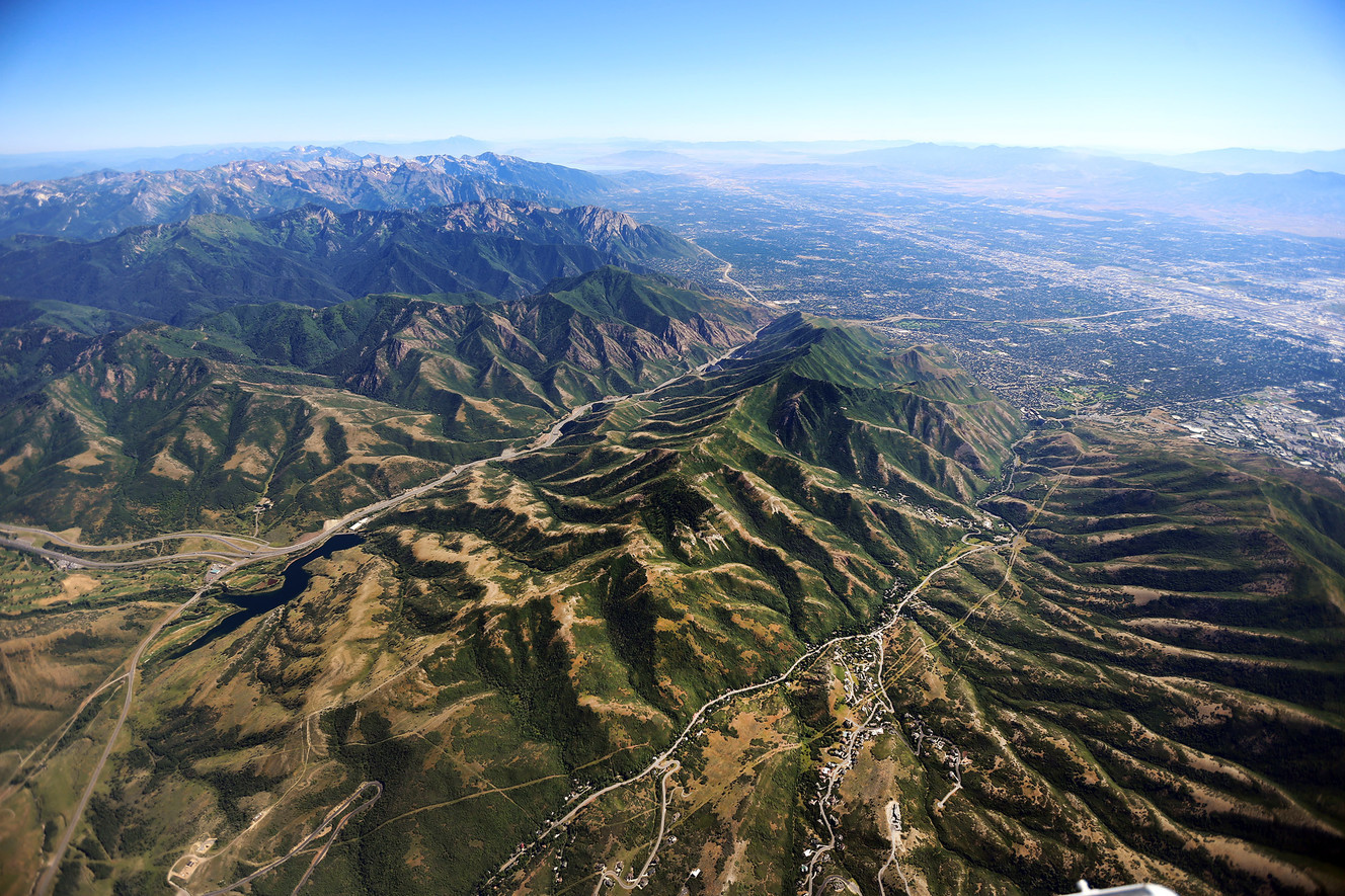 FILE - The central Wasatch Mountains on Monday, July 11, 2016. Questions and complaints were raised Thursday over a possible national recreation and conservation area for the central Wasatch mountains that includes land trades for ski resort and wildernes