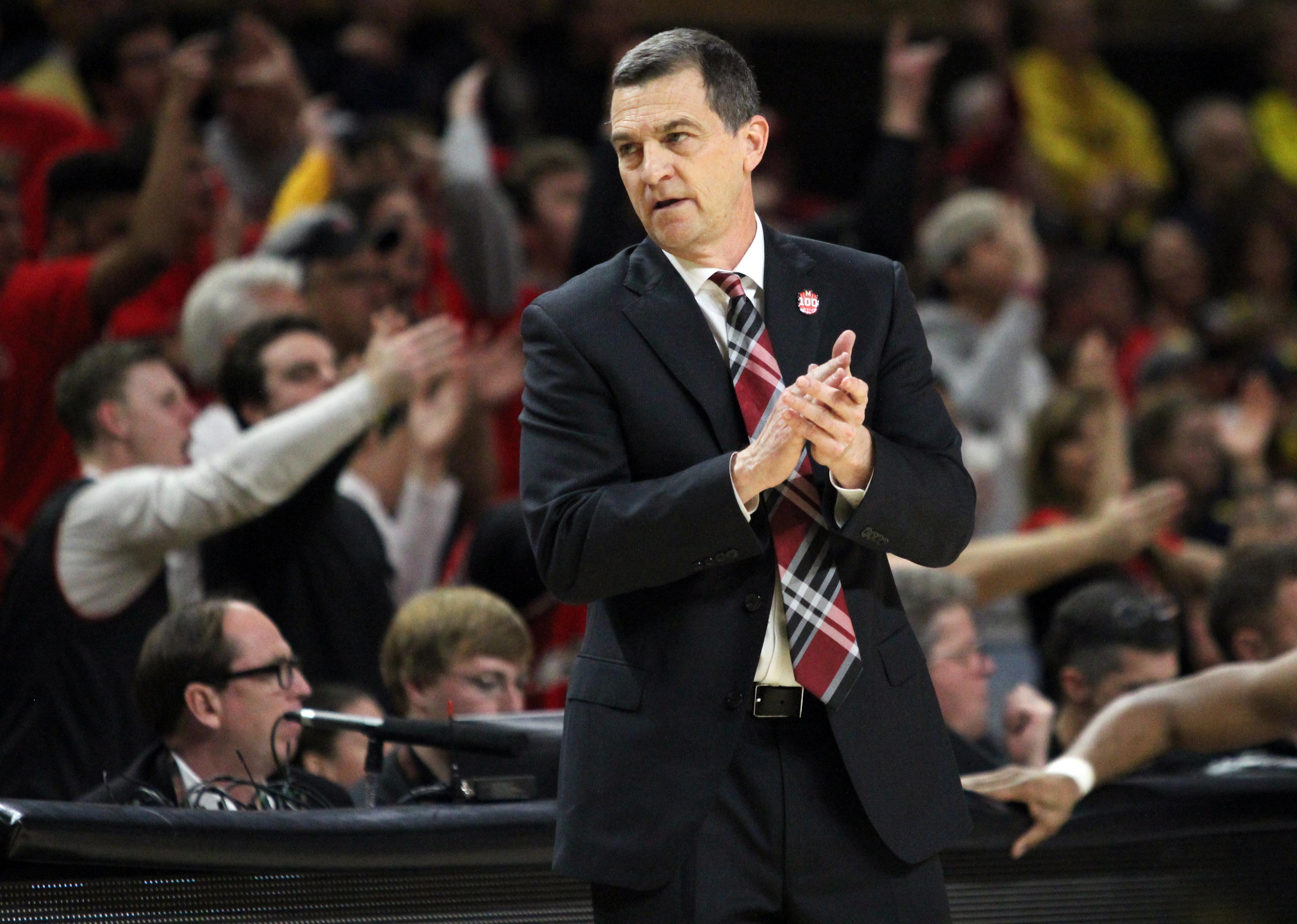 Maryland basketball Mark Turgeon vs. Michigan